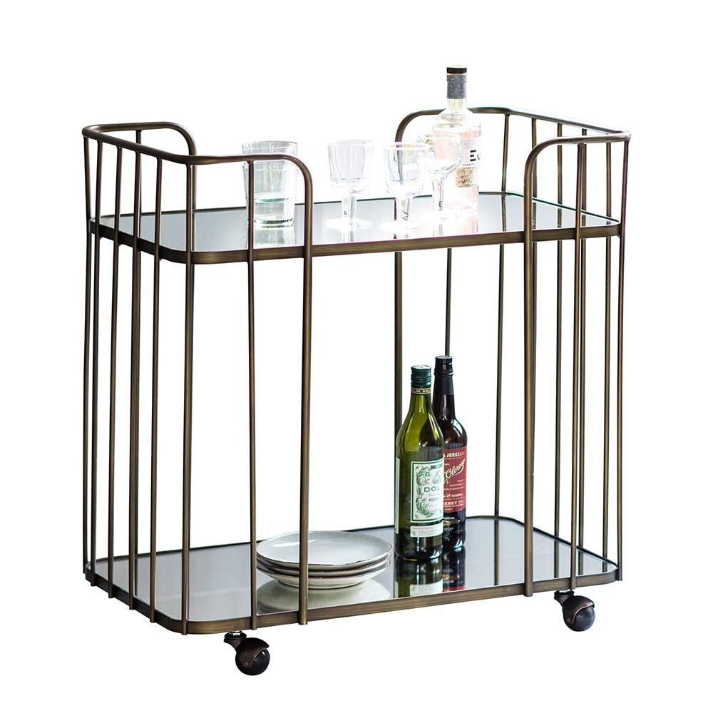 Houseology Collection Verona Drinks Trolley