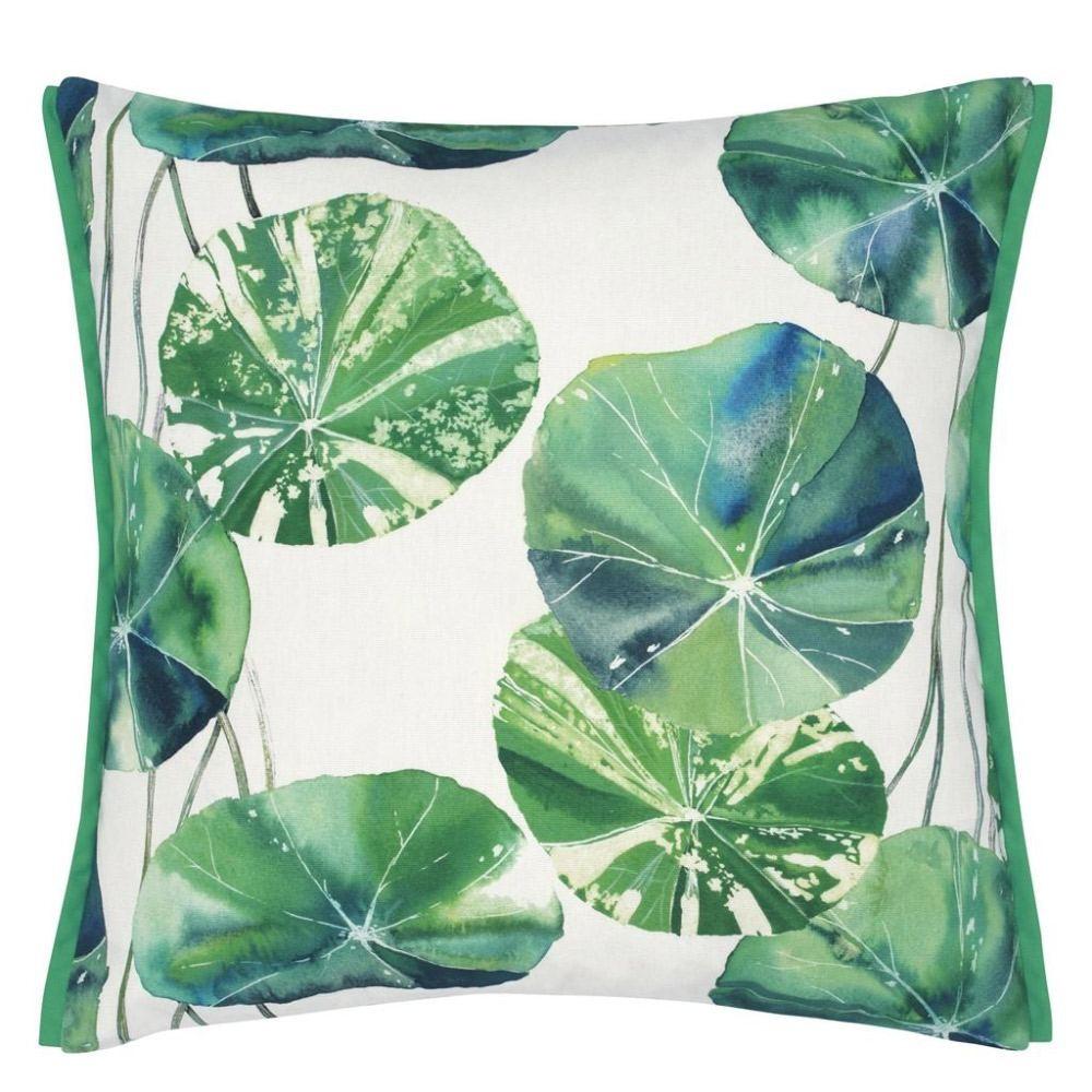 Brahmi Leaf Outdoor Cushion