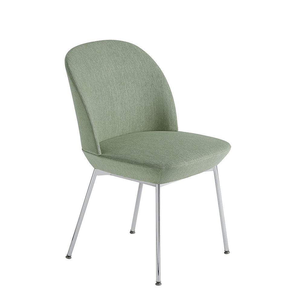 Oslo Side Chair Chrome