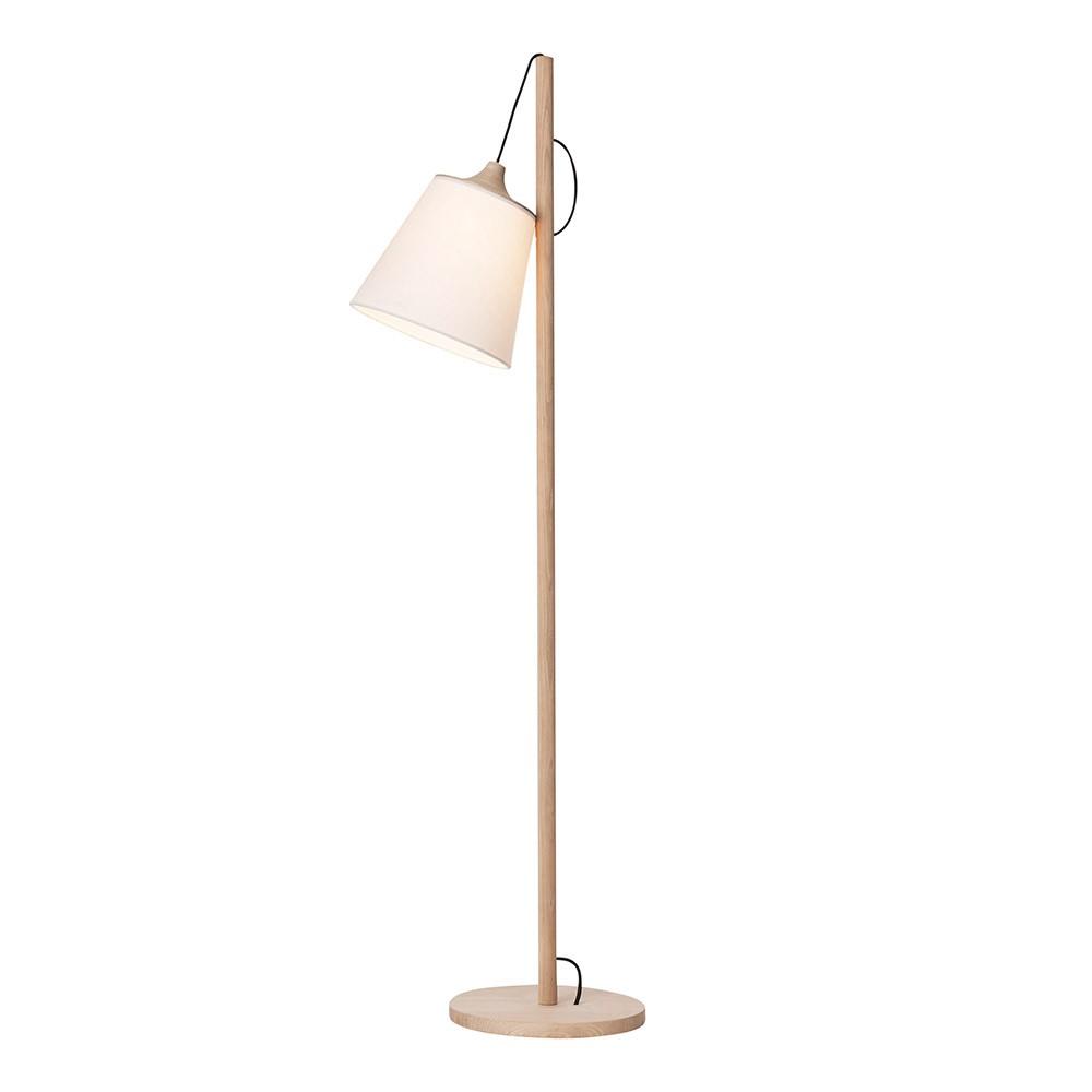 Pull White Floor Lamp