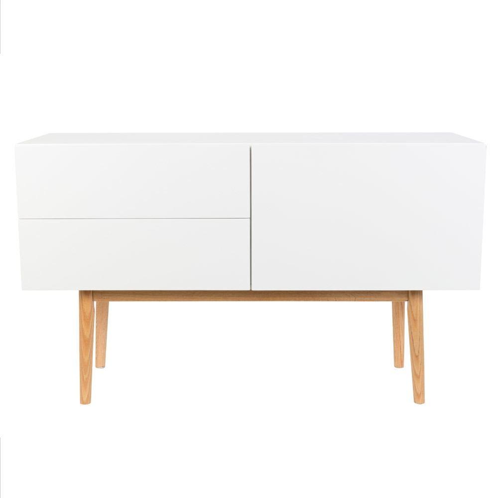 Zuiver Wood 1 Door 2 DRawer Cabinet