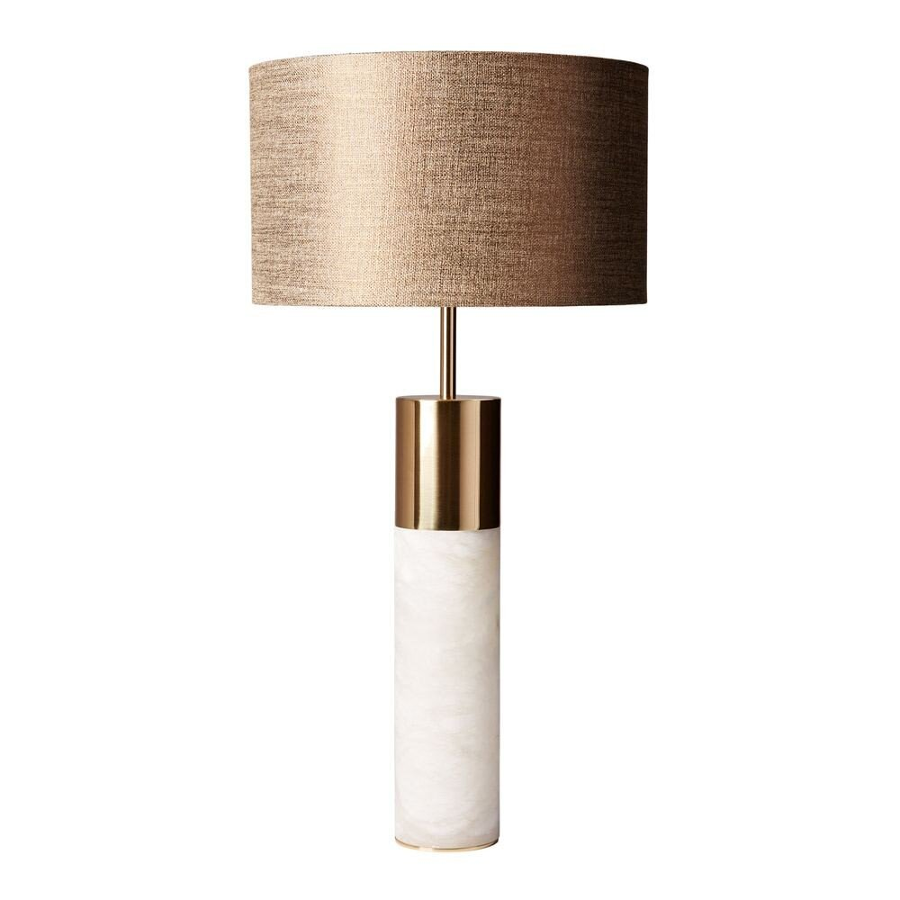 Azaila Polished Brass Table Lamp