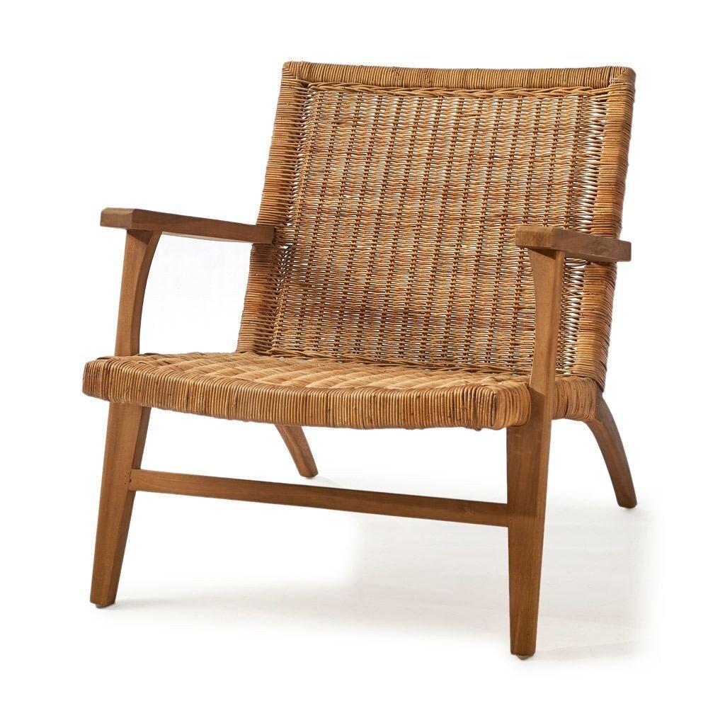 Africa Lounge Chair Rattan
