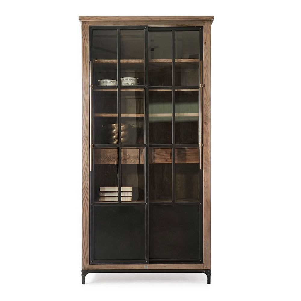 Hoxton Cabinet Reclaimed Ash Metal