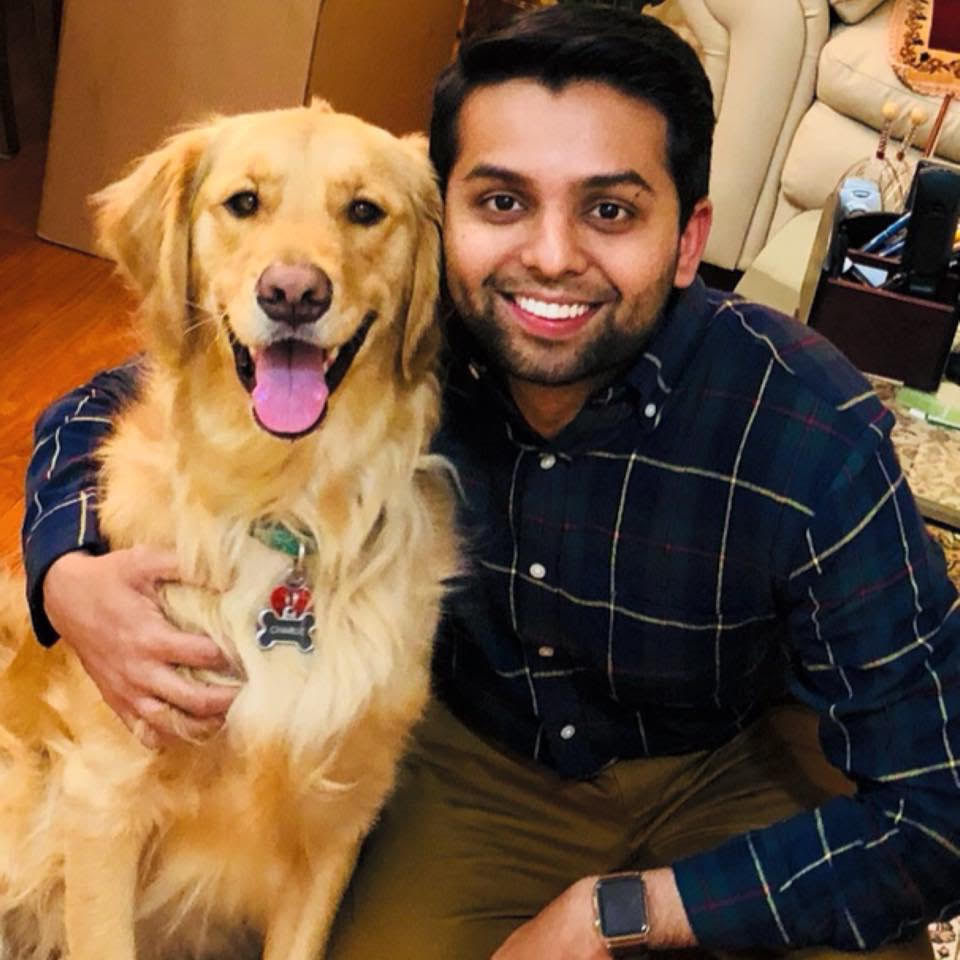 Dhaval Ruwala  Undergrad: Michigan State University  Med school: Michigan State University  Michigander for most of my life. Dog dad to my 4 year old golden retriever, Charlie. Enjoy traveling, playing craps when I can, hanging out with friends/family.