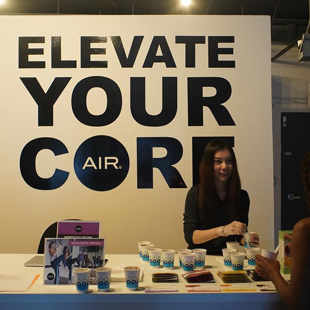 Heart-healthy beans, immunity-boosting fruit and nutrient-rich whole grains are the CORE of #ABetterCraving. Until next time, @airfitchicago!  #cravenatural #elevateyourcore #foodtasting #airfitnow #aerialyoga #healthybreakfast #chicagoyoga #yoga #fitness #yogalife #yogainspiration #love #namaste #transformationtuesday #mindfulness #yogalove #gym #yogateacher #yogapractice #yogaeverywhere #workout #wellness #yogaeveryday #health #motivation #fitnessmotivation