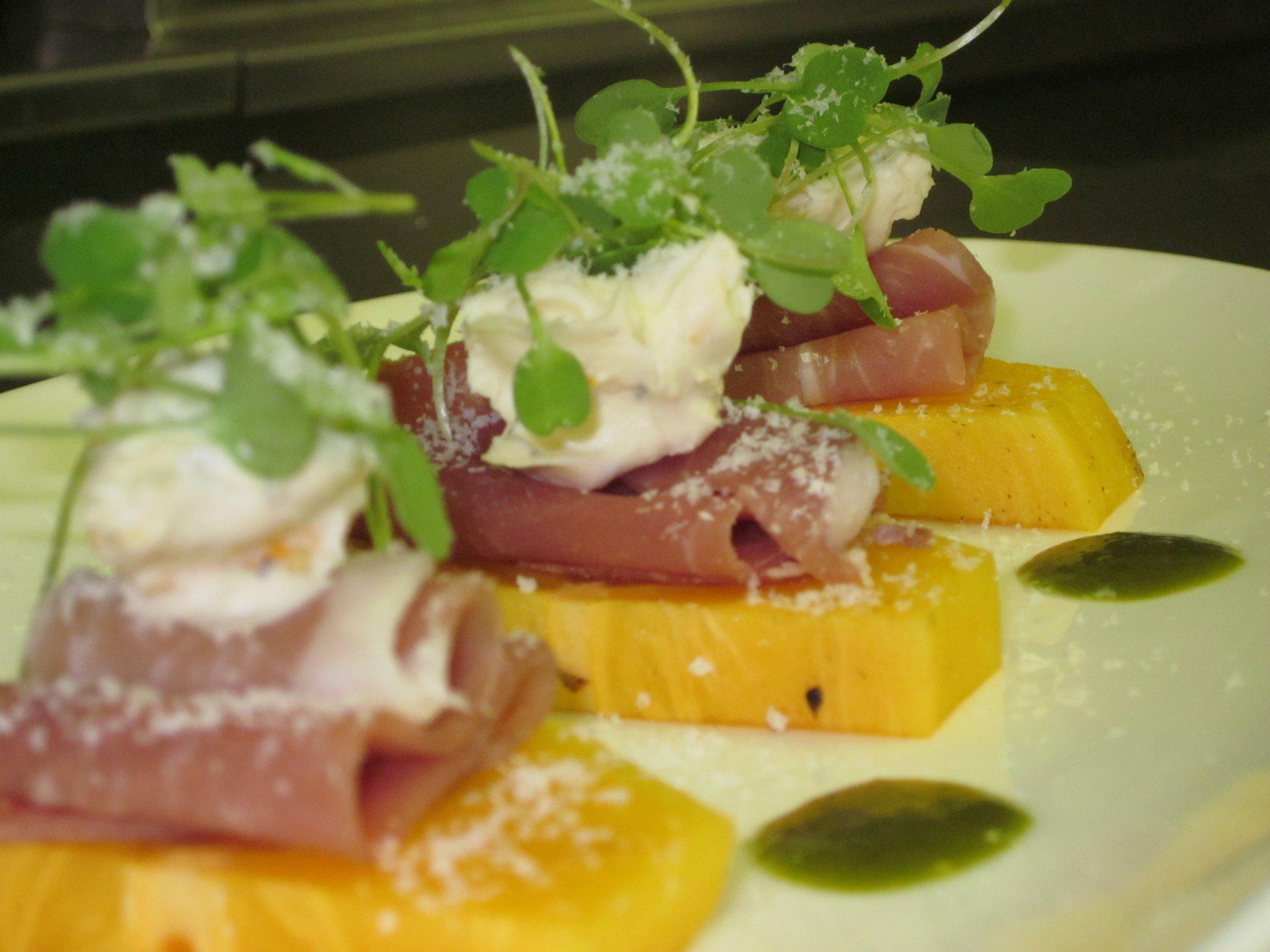 Parma Ham & Persimmon