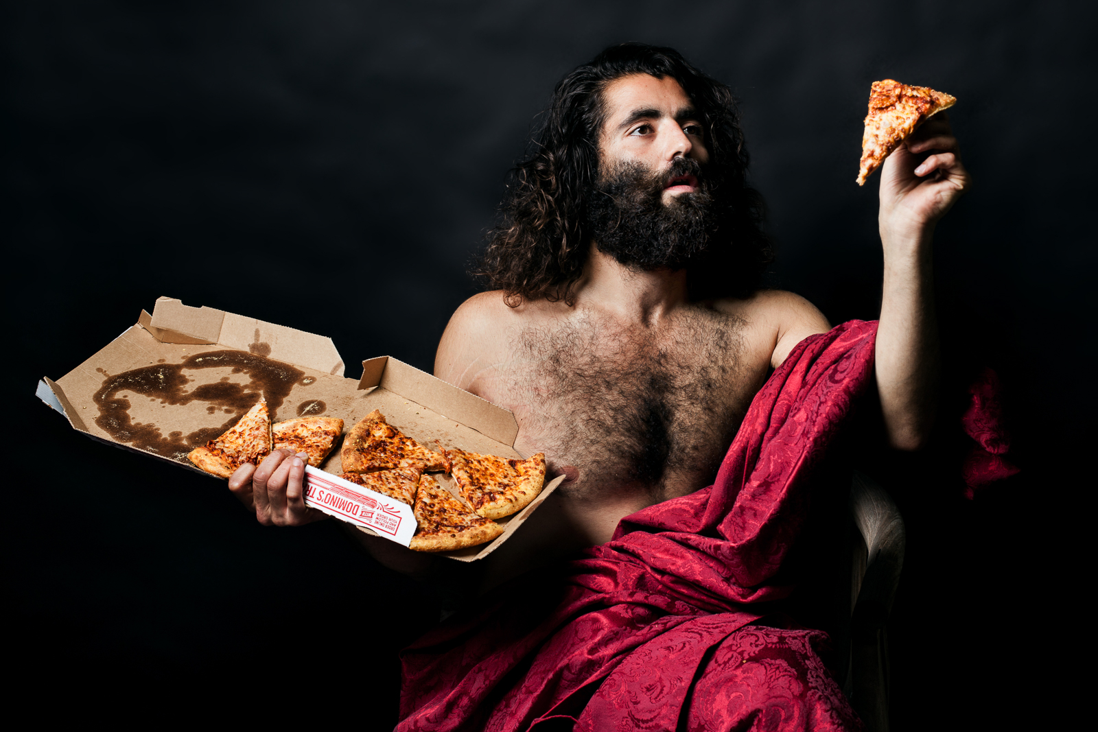 CONTEMPORARY PIECES - RENAISSANCE-INSPIRED IMAGES WITH A FAST FOOD TWIST