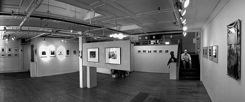 PhotoZone downstairs NewZone and Lane Arts Council upstairs