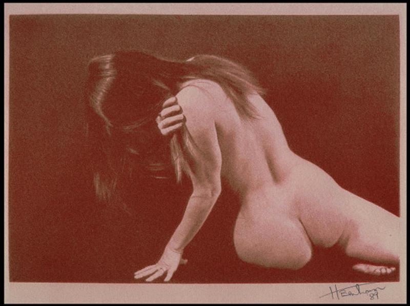 Harry Houchins #2 Gum Bichromate print