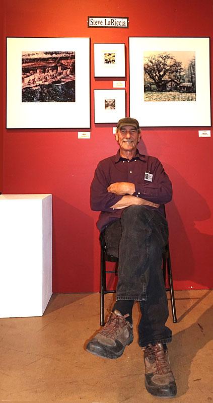 Photo of Steve Lariccia by Herman Krieger