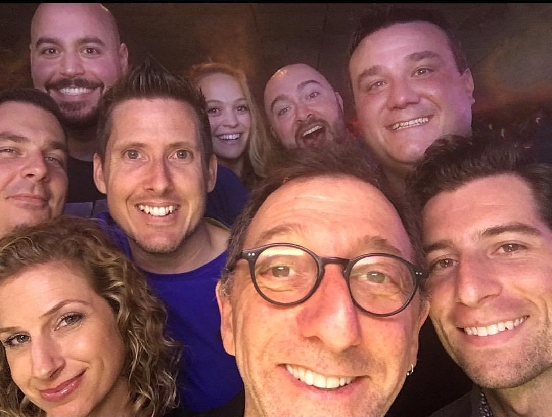 David Razowsky and Sick Puppies cast members