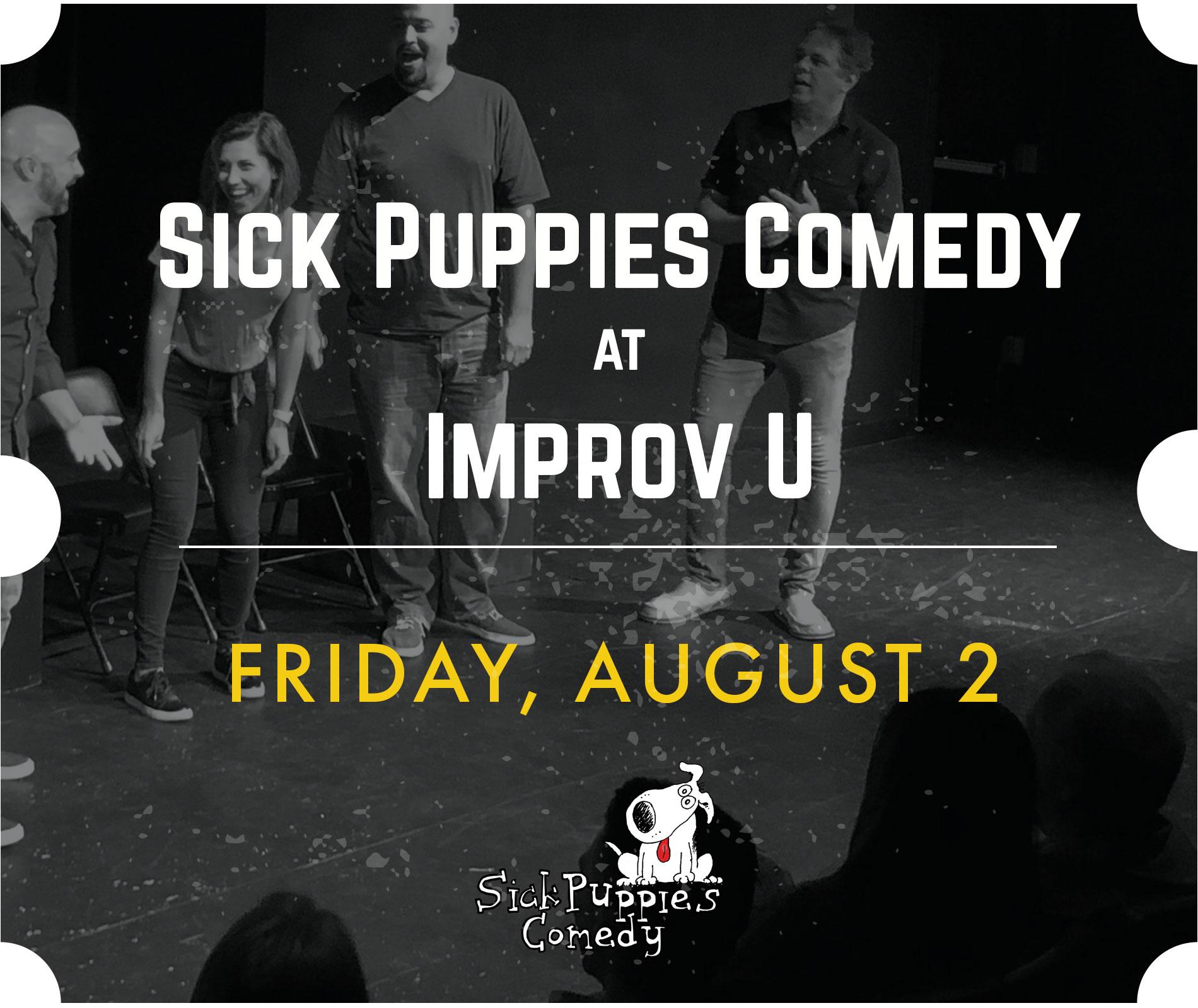 Sick Puppies Show August 2, 2019