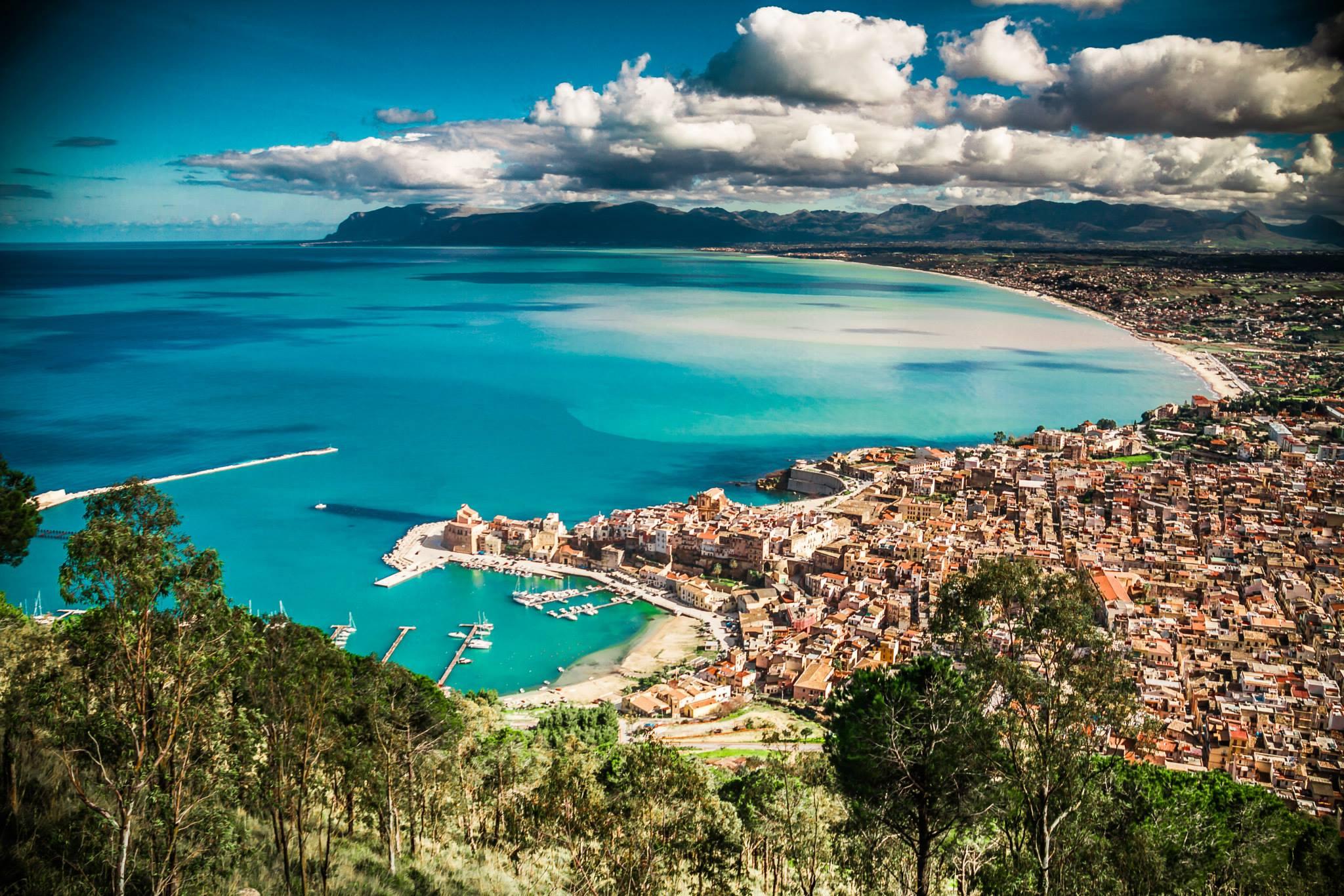 Michael Colomba's hometown; Castellammare Del Golfo.