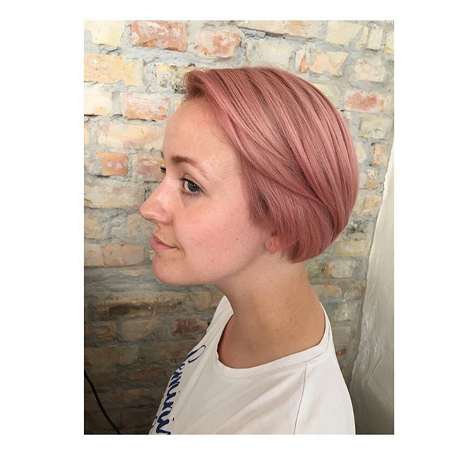 #new #kevinmurphy #kevinmurphycolorme #rose #kevinmurphyhair #kevinmurphyproducts ##frisør #frisørvesterbro #haircut #rosehair