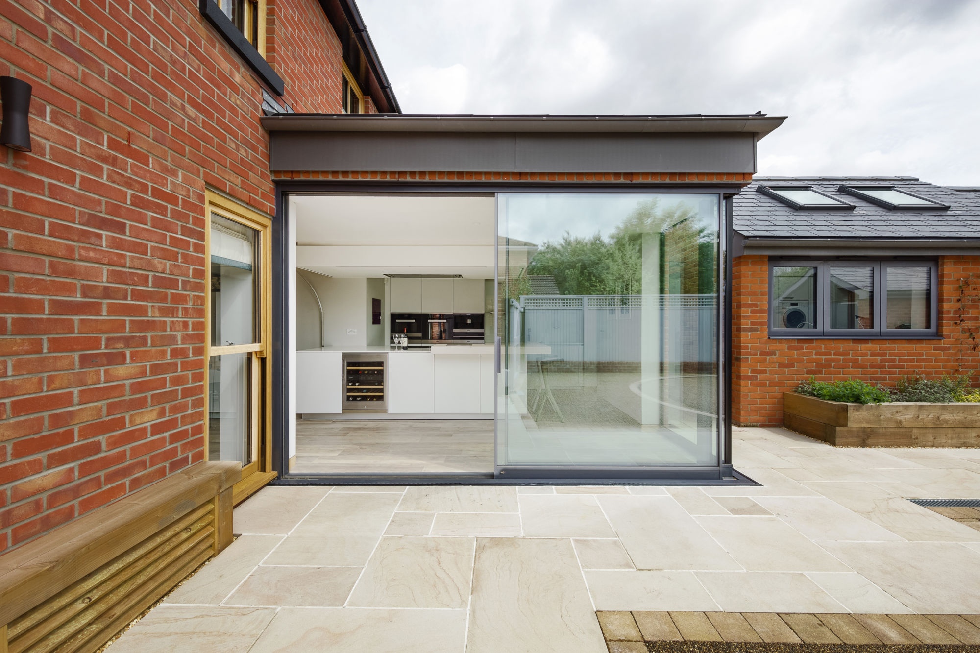 Glass Extension to Victorian Cottage