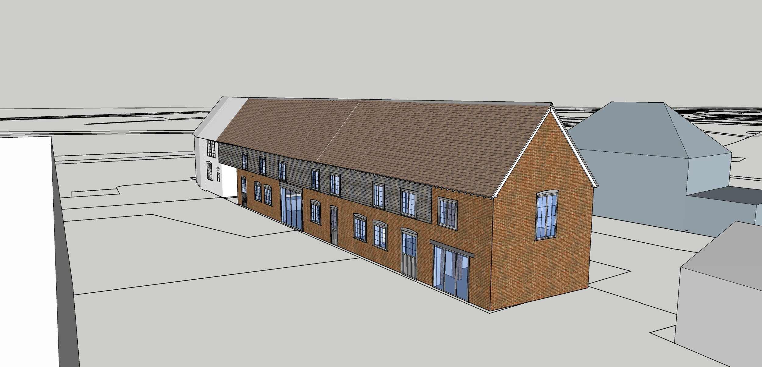 New Residential Barn Conversion at Planning Stage