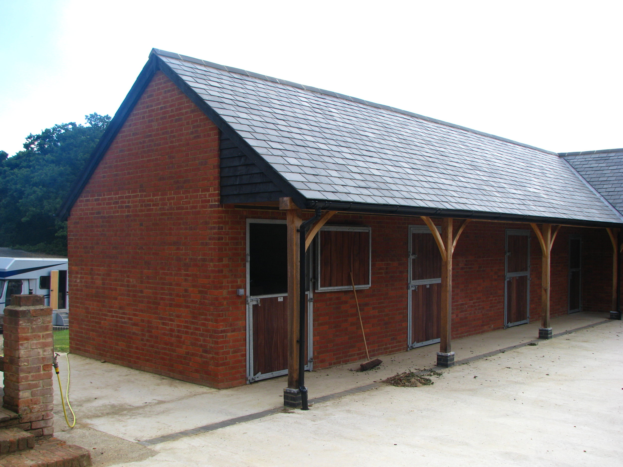 New Build Stable Block with a Central Courtyard
