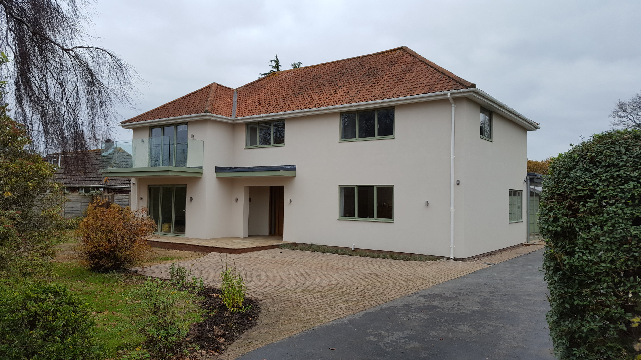 Refurbished New Forest house