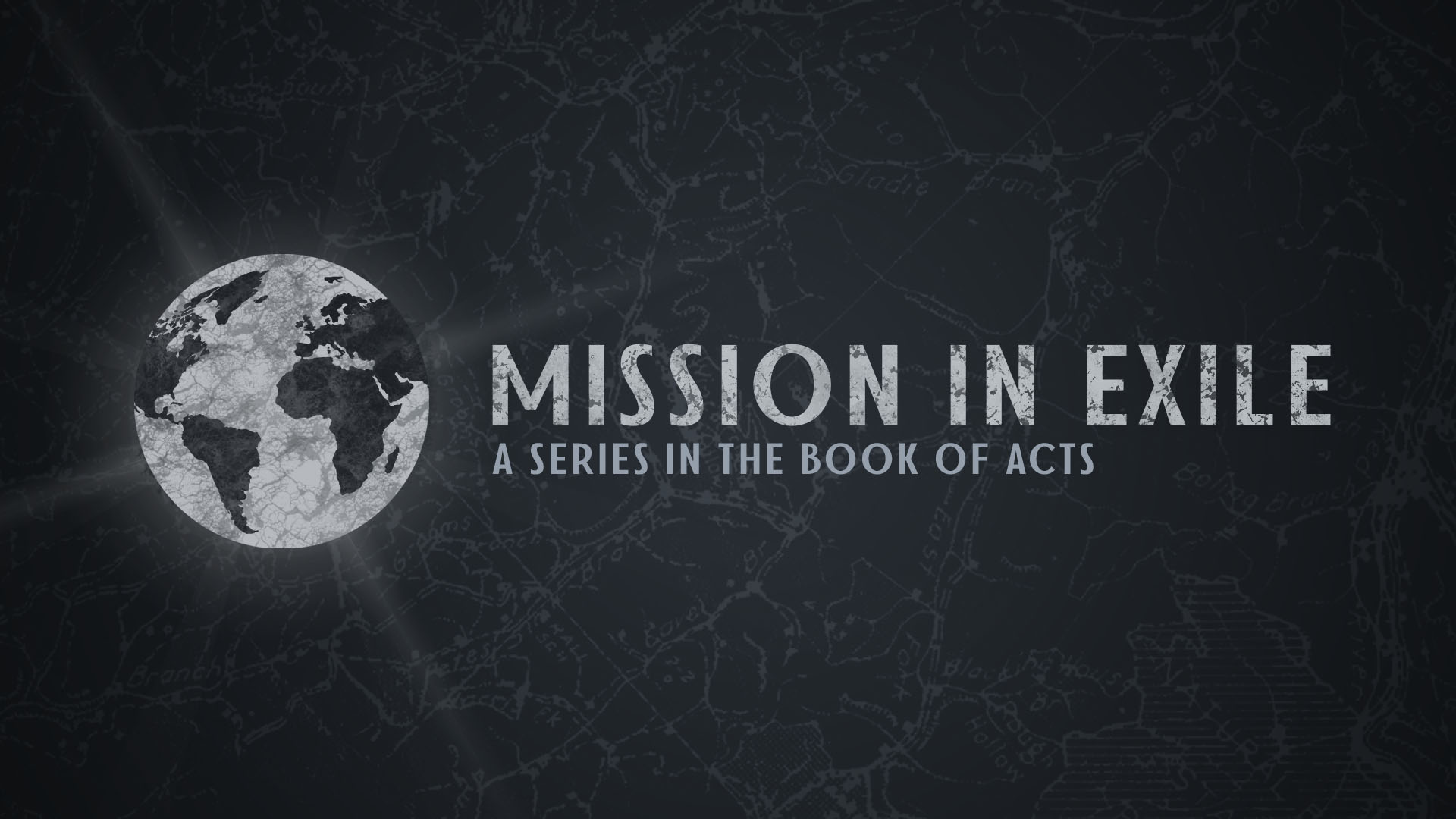 Mission in Exile - A Series in the Book of Acts