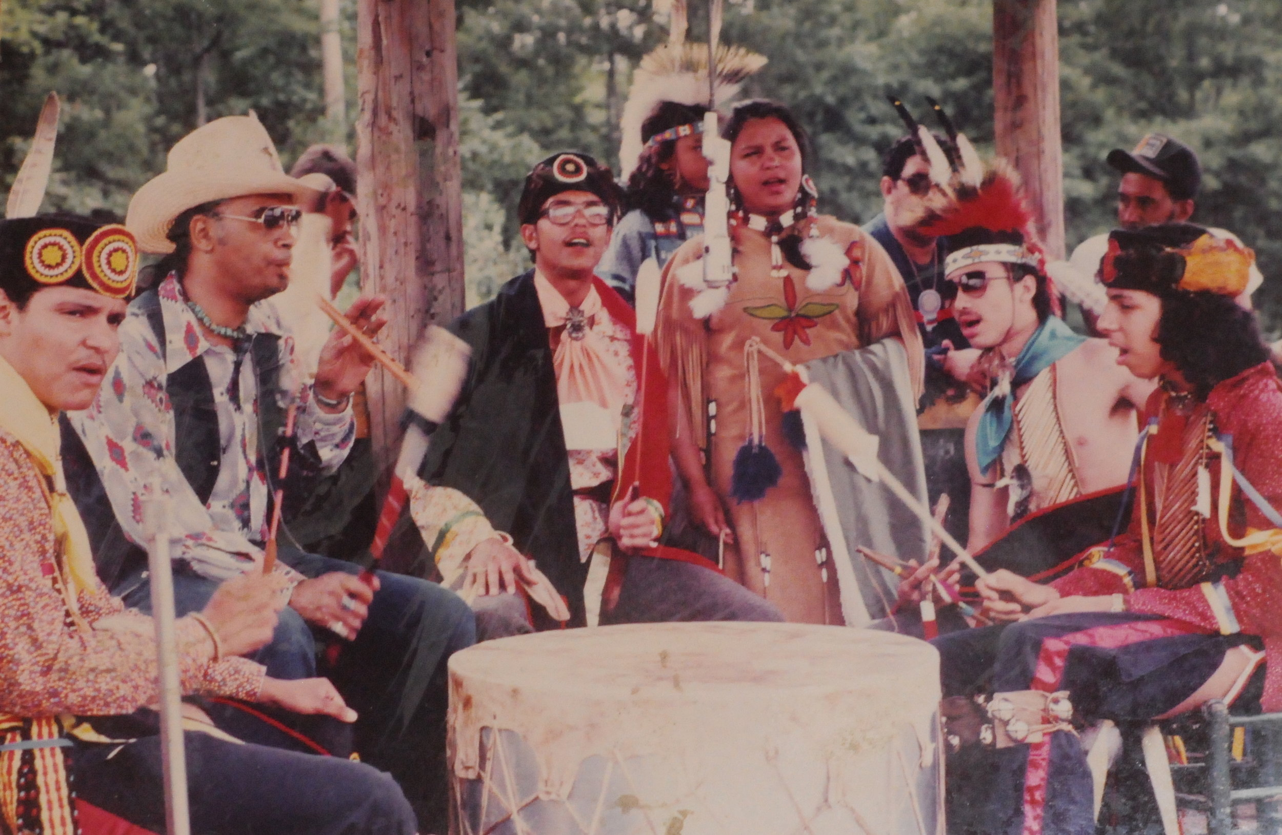 Photo courtesy of the Haliwa-Saponi Indian Tribe. Thumbnail courtesy of Karen Lynch Harvey