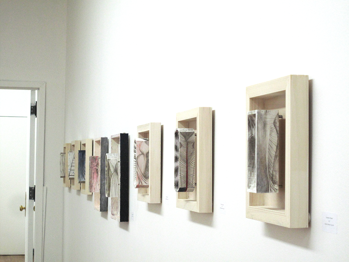 Chashama installation, 2014