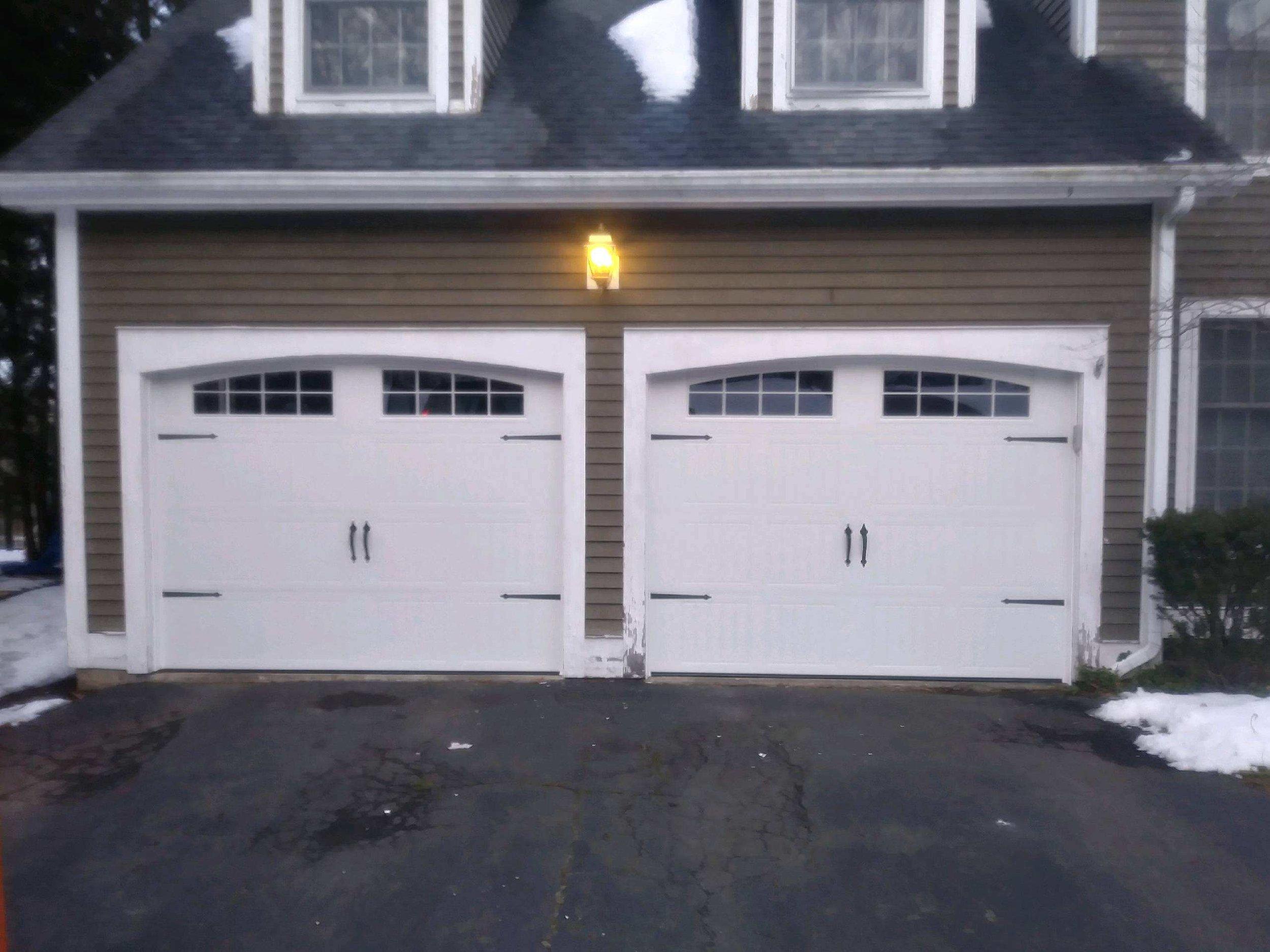 Two door garage in Bloomfield