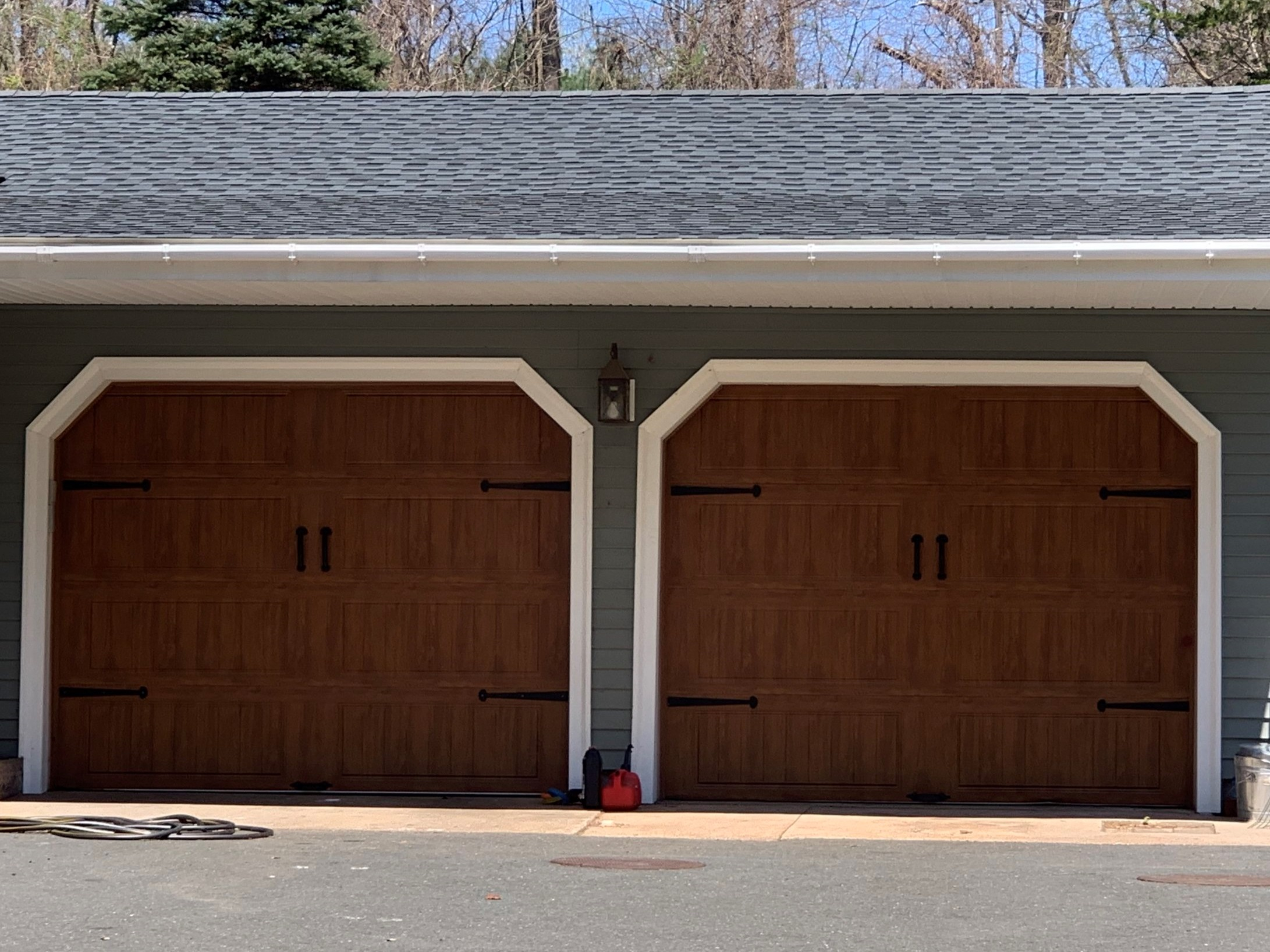 Two Door Garage in Avon