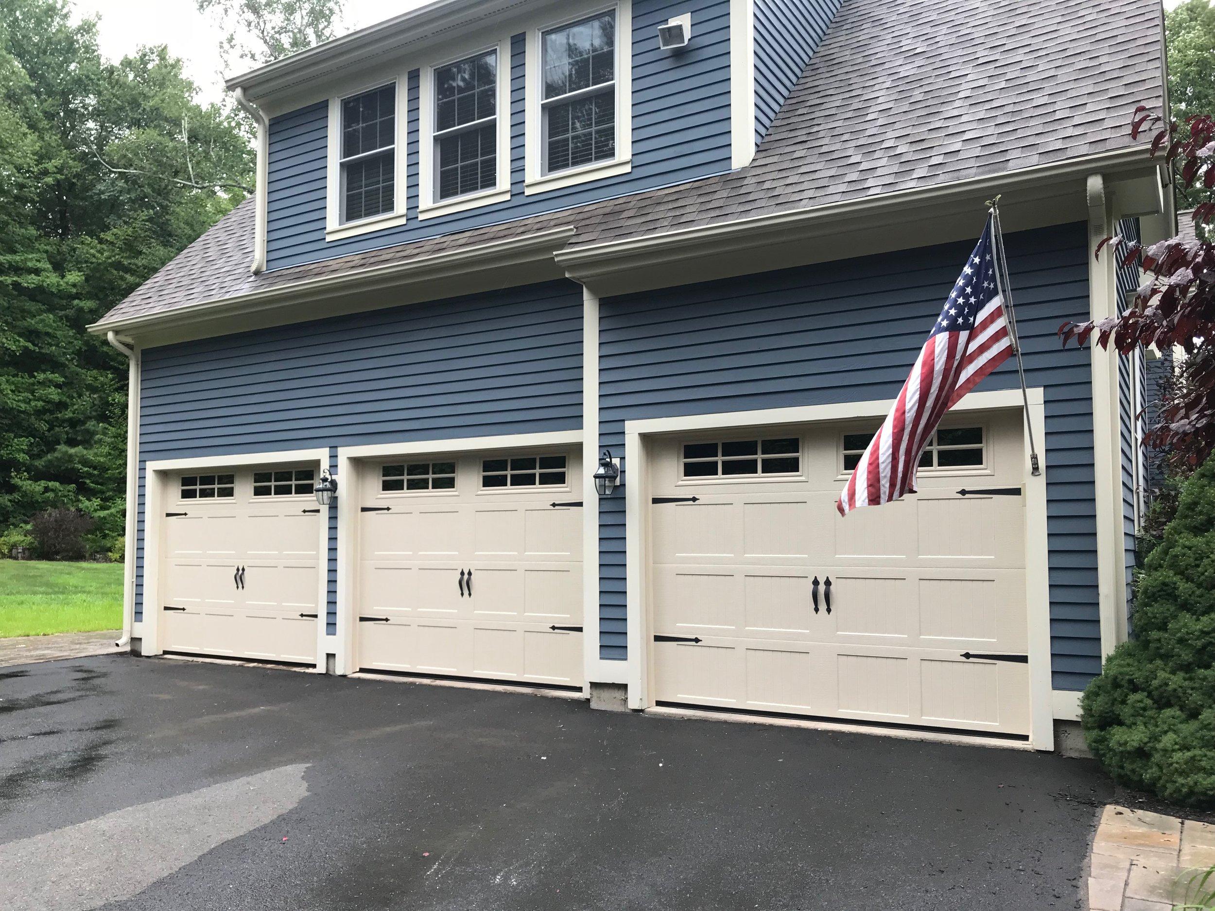 Three Door Garage - Litchfield