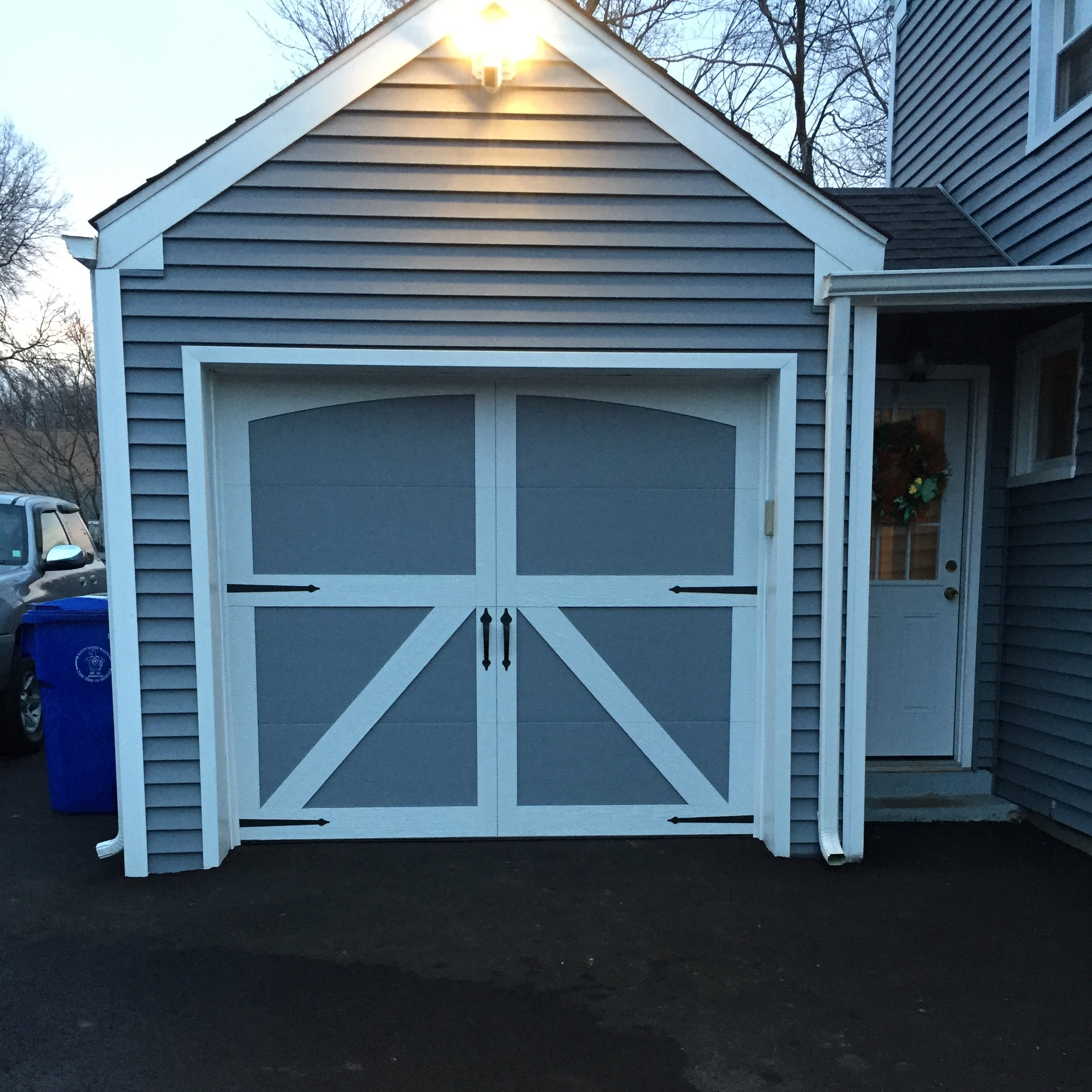 Carriage House Style Garage Door - Newington