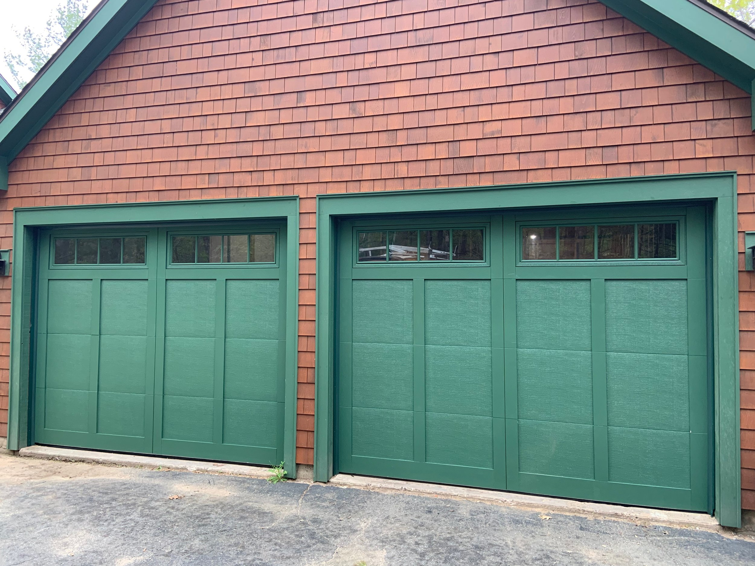 Two Door Garage - Simsbury