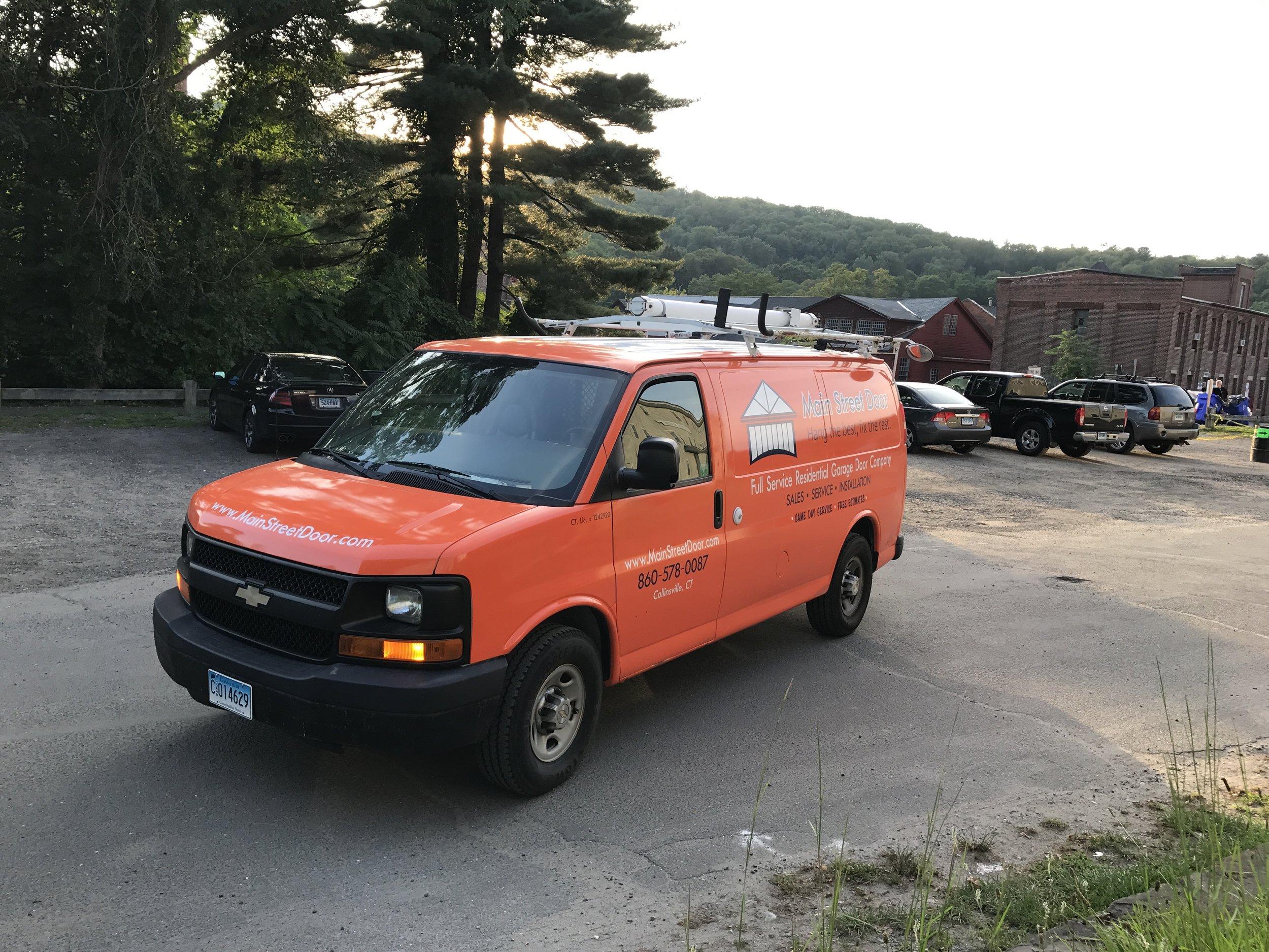 Fully Stocked Garage Door Service Truck