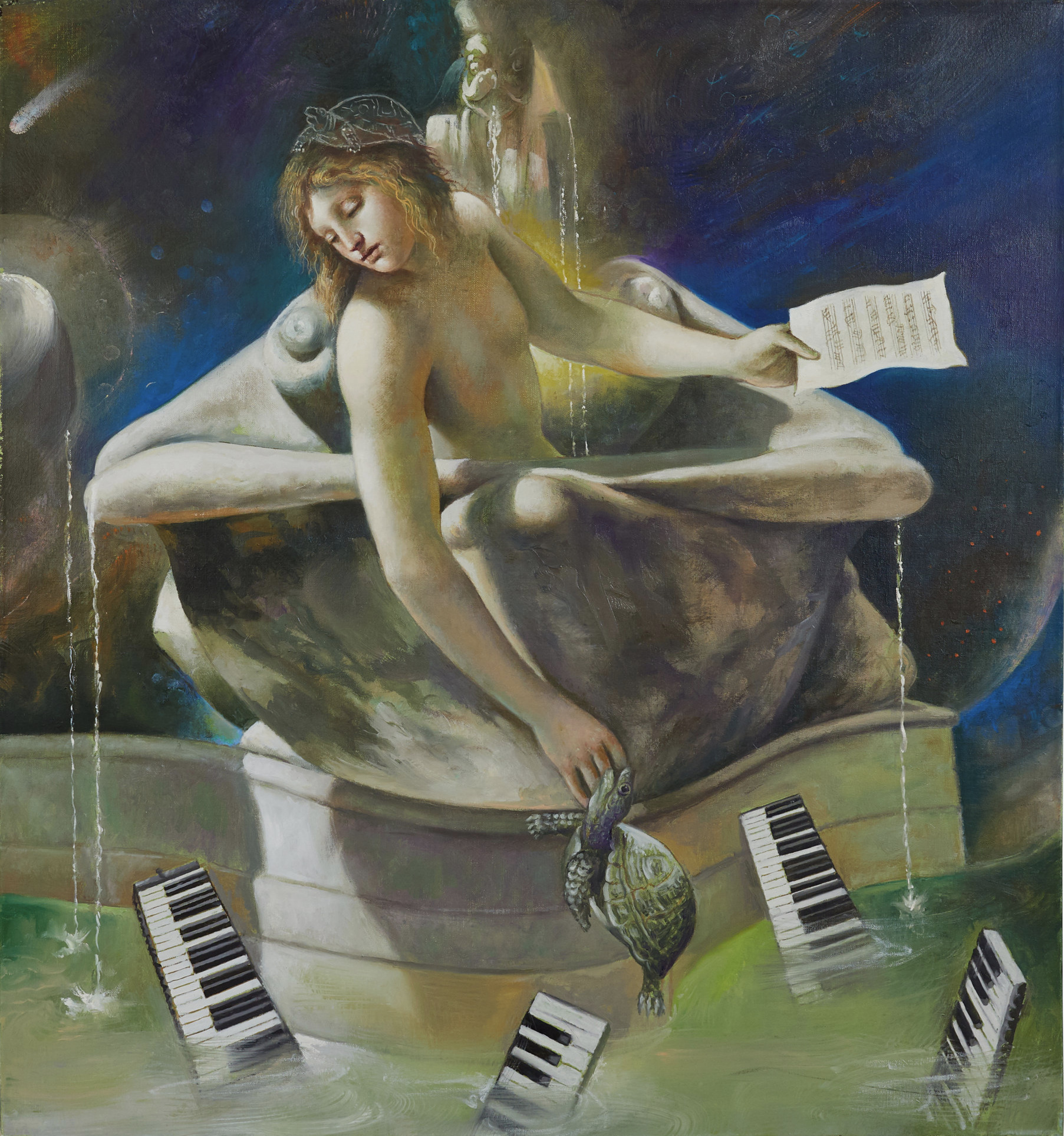Allegoria (Allegory), 2011. Oil on canvas, 66 x 61 cm. New York, Collection of the Artist and Carol Lane, inv. no. 799.2011.P.jpg