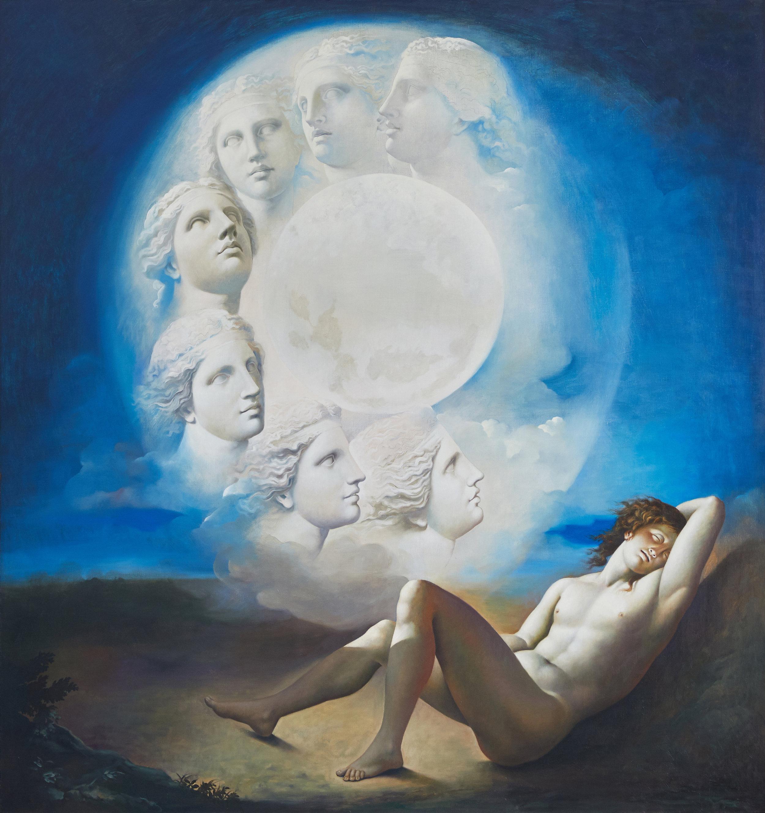 346.1995.P, 1995, The Moon Enters Closed Eyes.jpg