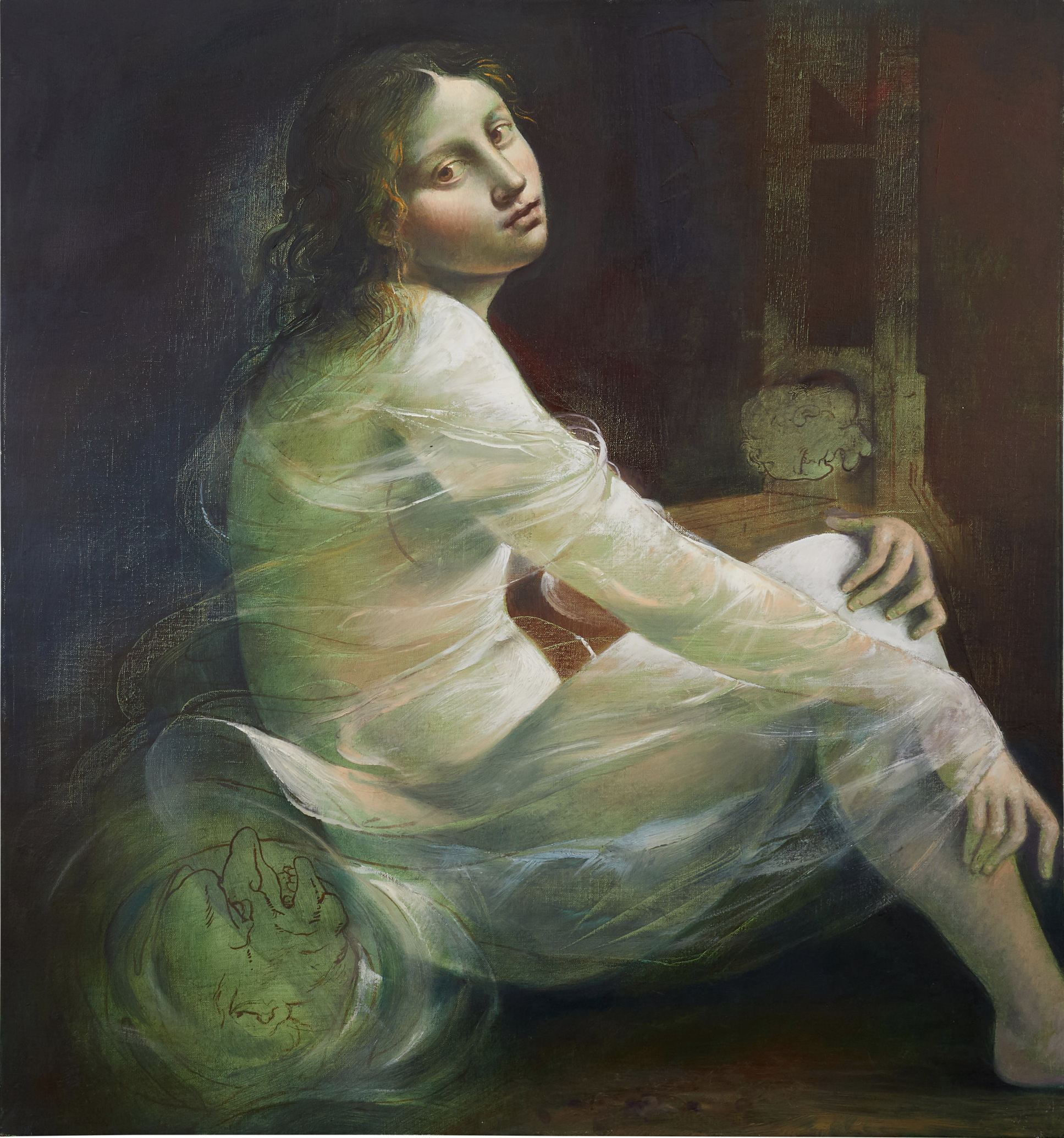 Rescousse, 2011. Oil on canvas, 66 x 61 cm. New York, Collection of the Artist and Carol Lane, inv.no. 773.2011.P.jpg
