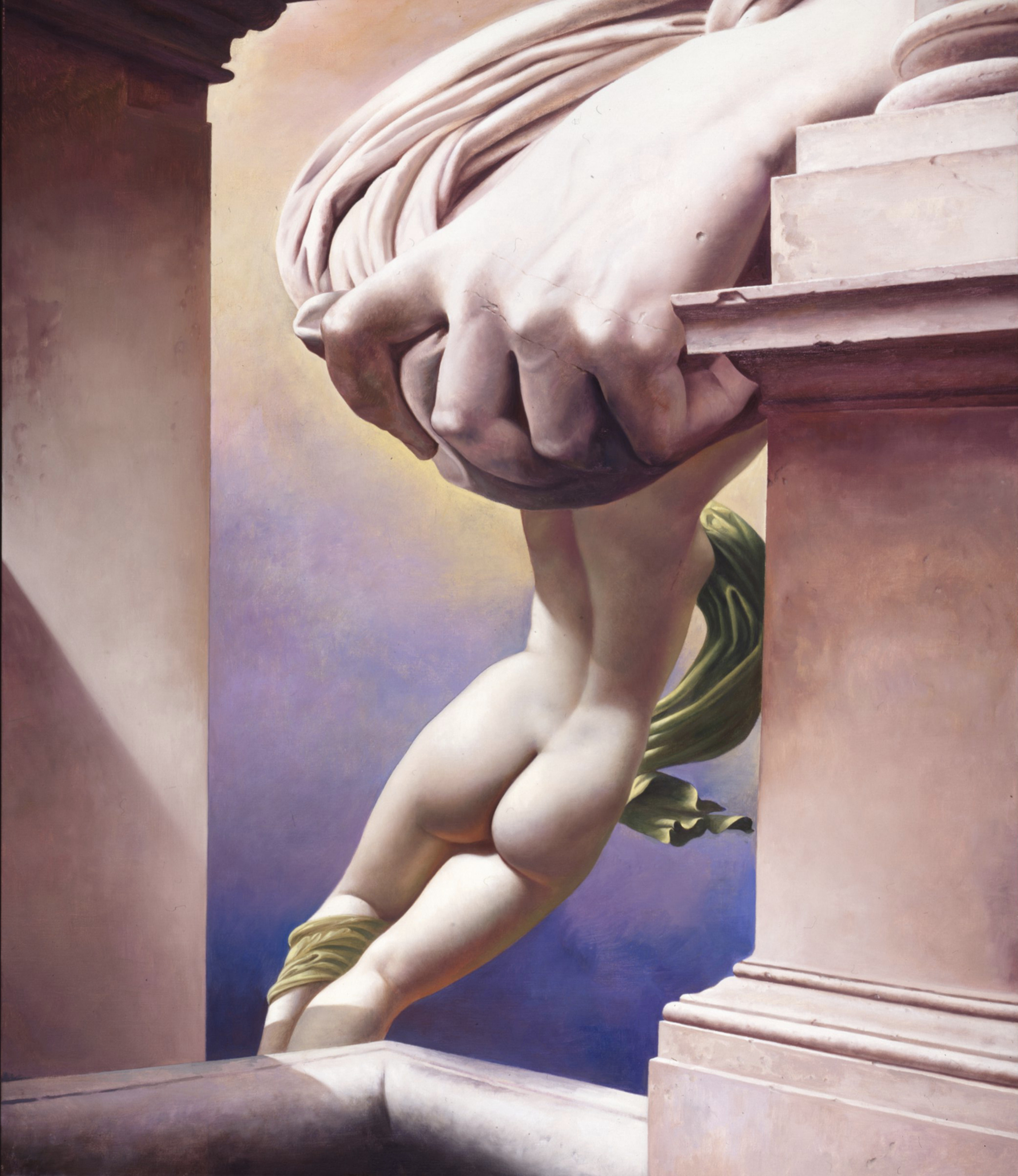 Ottavo sogno - il potere (Eighth Dream - the Power), 1993. Oil on canvas, 139 x 122 cm. New York, Collection of the Artist and Carol Lane, inv. no. 305.1993.P. 2 - - retino, 19x22 cm.jpg