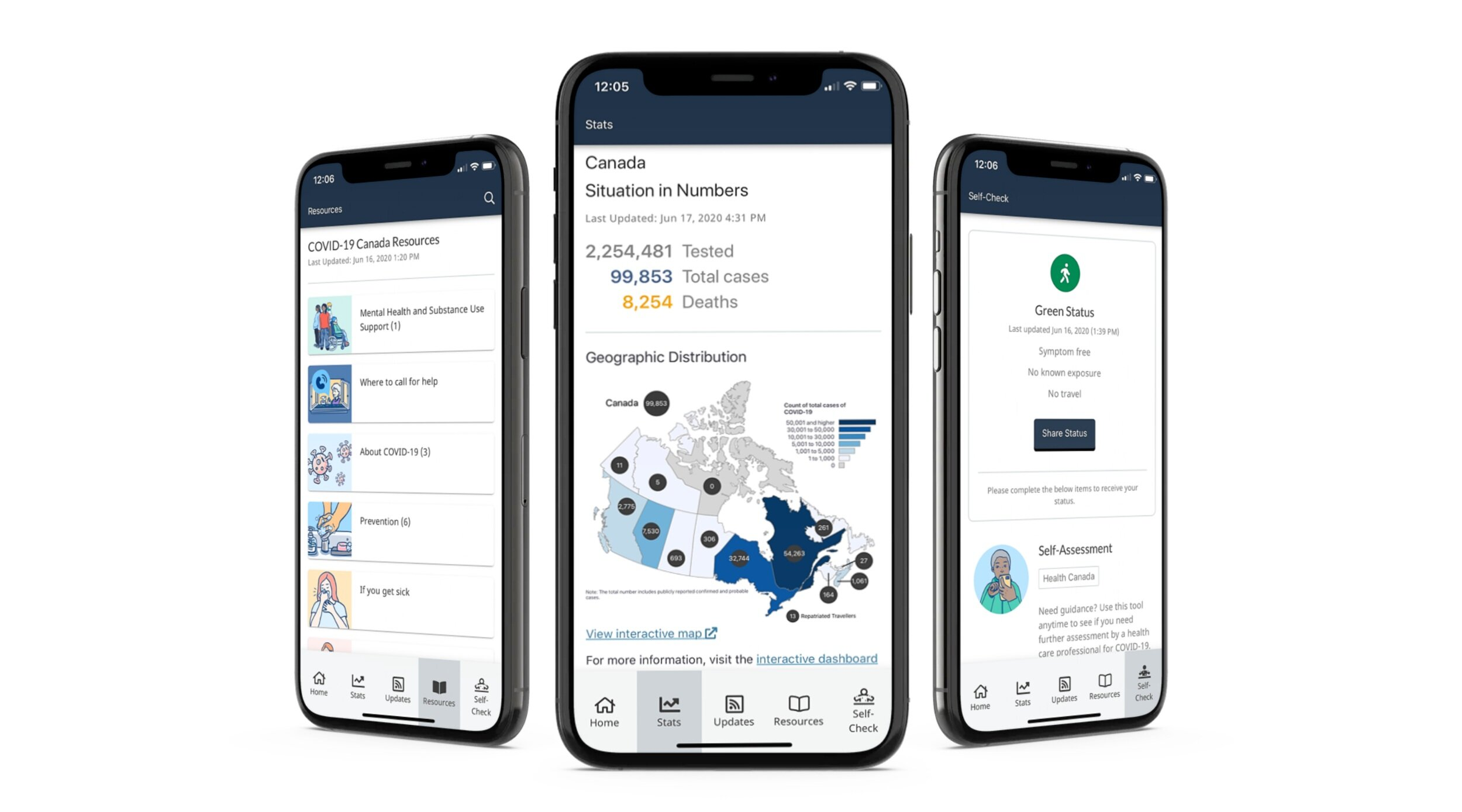 Canada Covid 19 App Thrive Health