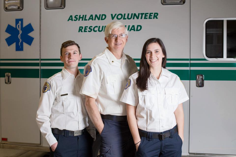 Membership - The Ashland Volunteer Rescue Squad has been serving our community since 1950 as an all volunteer rescue squad. Our membership currently consists of over 50 active members and we are always looking for new faces! If you enjoy serving your community and helping those in need, while having fun in good company, please consider a volunteer position within Ashland Rescue.