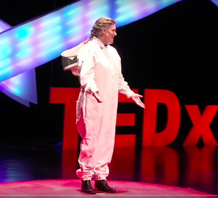 TEDx Talk with Jessie Brown (photo only for reference)