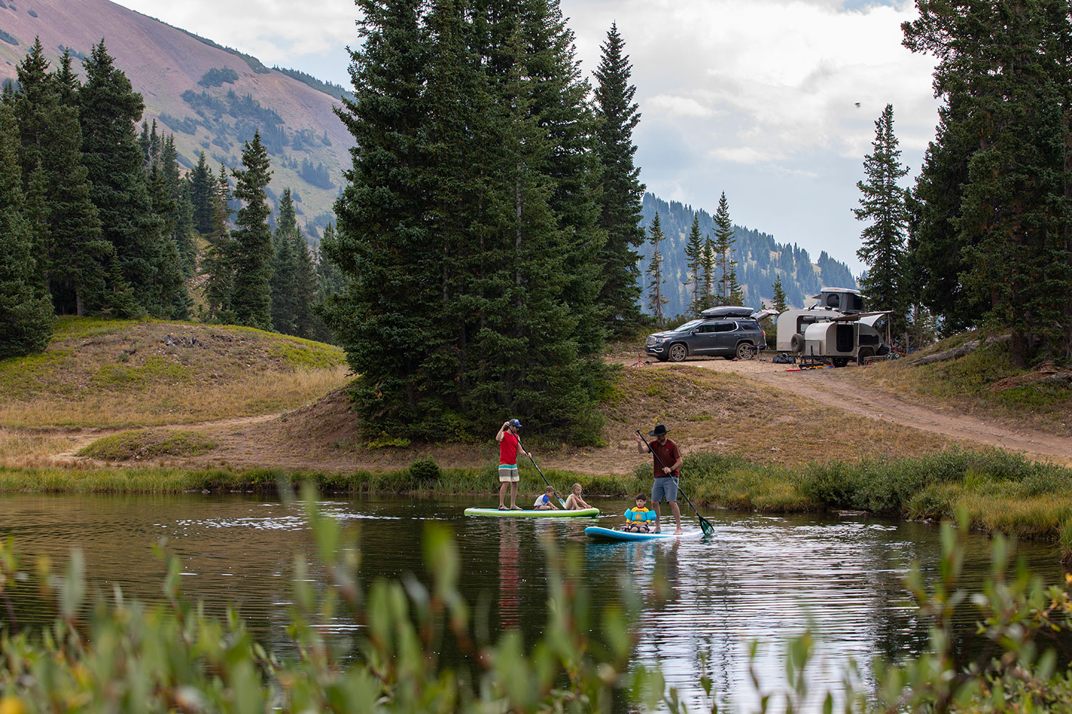 Kayaks & Stand-Up Paddle Boards -