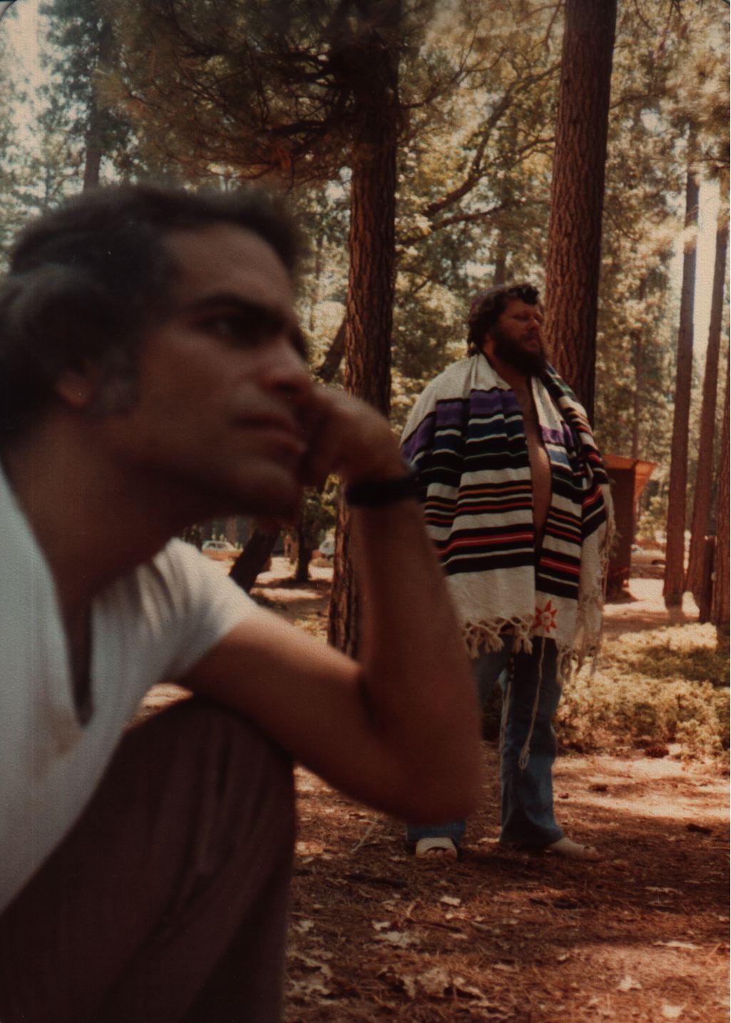 82 Joys  Barry Barkan in rainbow tallit, Jeff Wallin in foreground copy.jpg