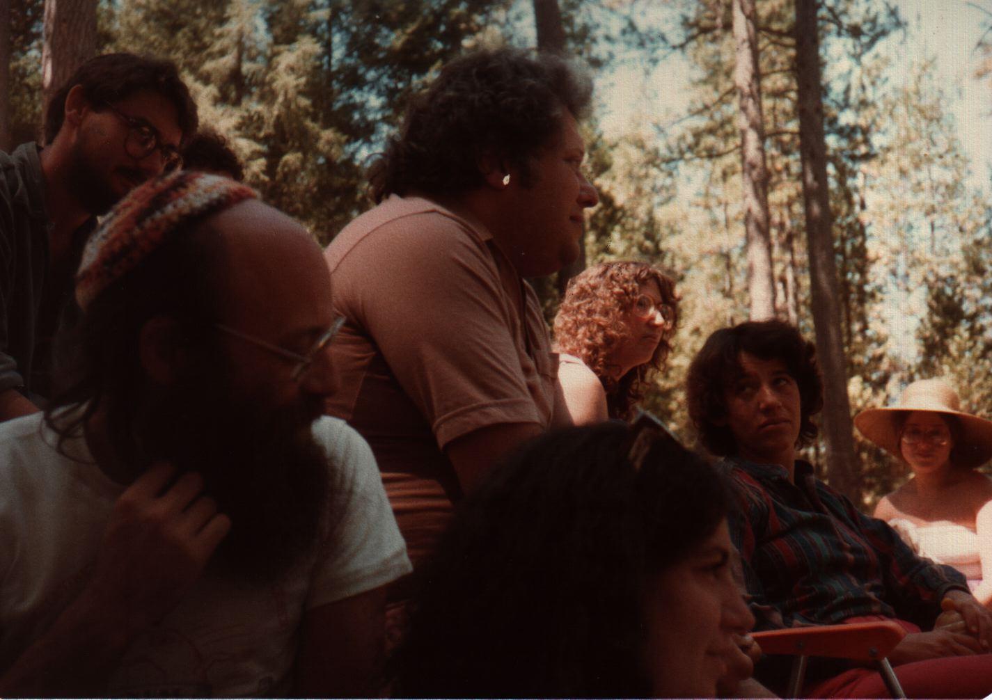 84 Joys  Folks listening during closing circle, Avram Davis, Reuven Goldfarb, Barry Barkan, Debby Barkan, Ilana Schatz,Miriam Bluestone, Sara Shendelman copy.jpg