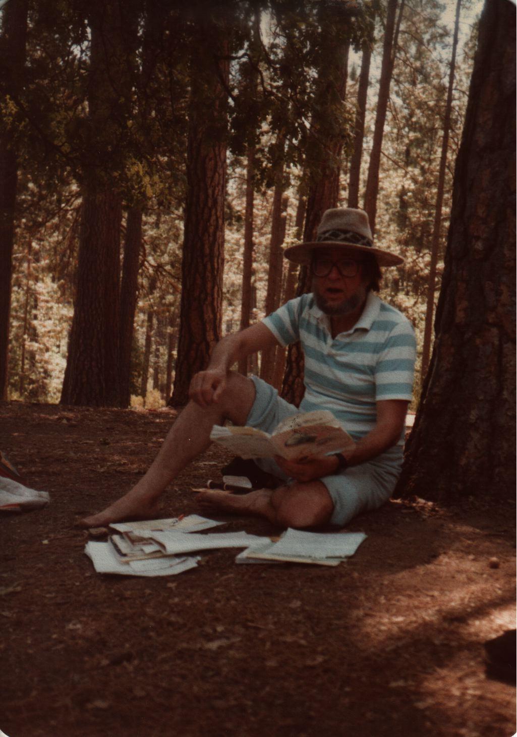 84 Joys  Hanan Sills teaching in woods copy.jpg