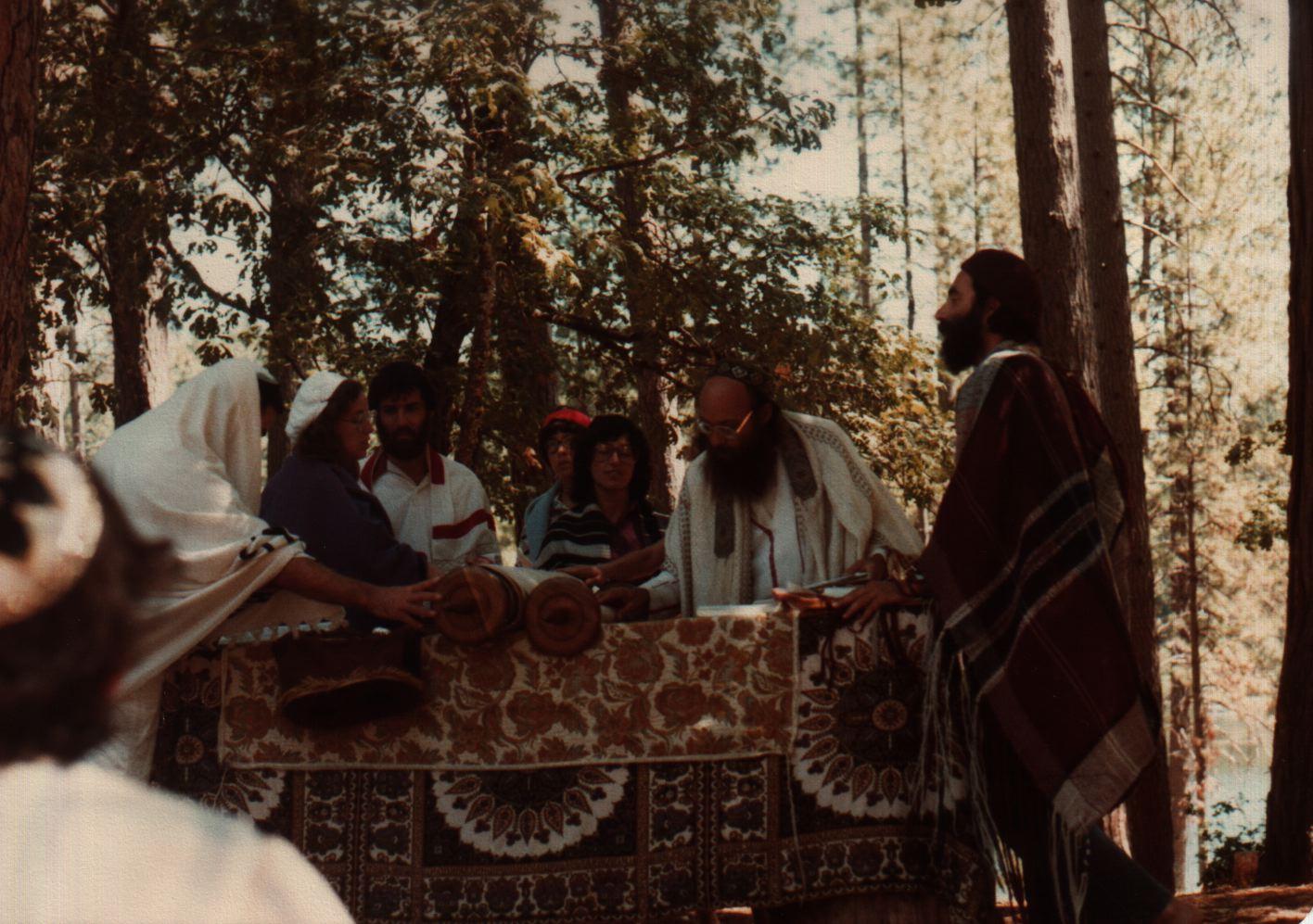 84 Joys  Torah reading, Reuven Goldfarb as gabbai, incl Keren and Hillel, Sharon Alexander, Avraham Sand copy.jpg