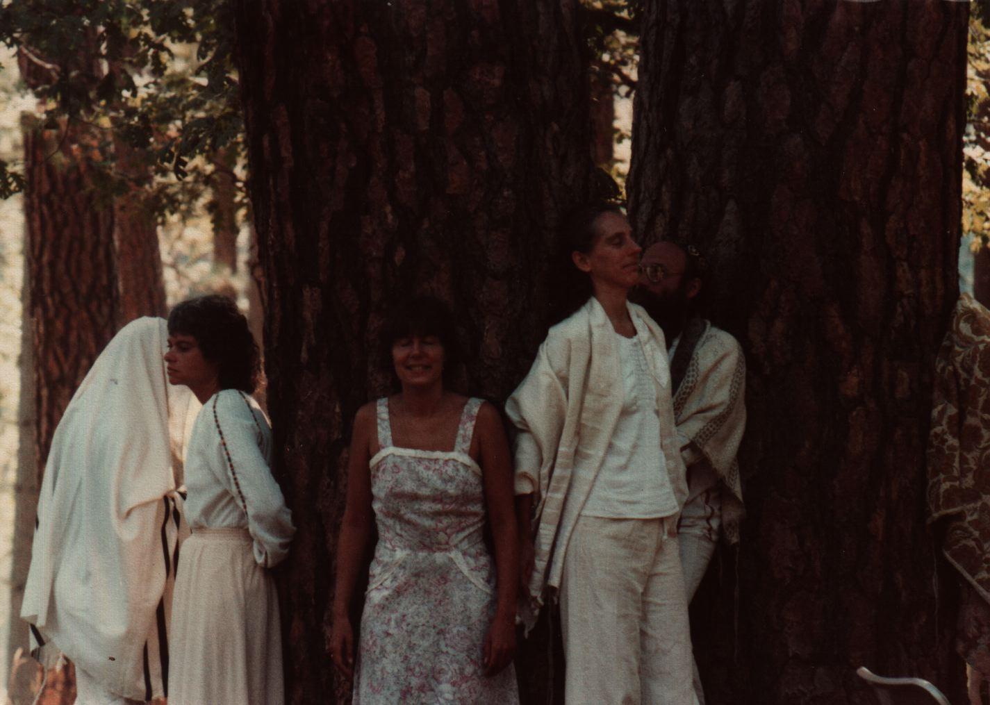84 Joys  Tree. meditation during Shabbat morning service, incl Miriam Stampfer, Yehudit and Reuven Goldfarb and ? copy.jpg