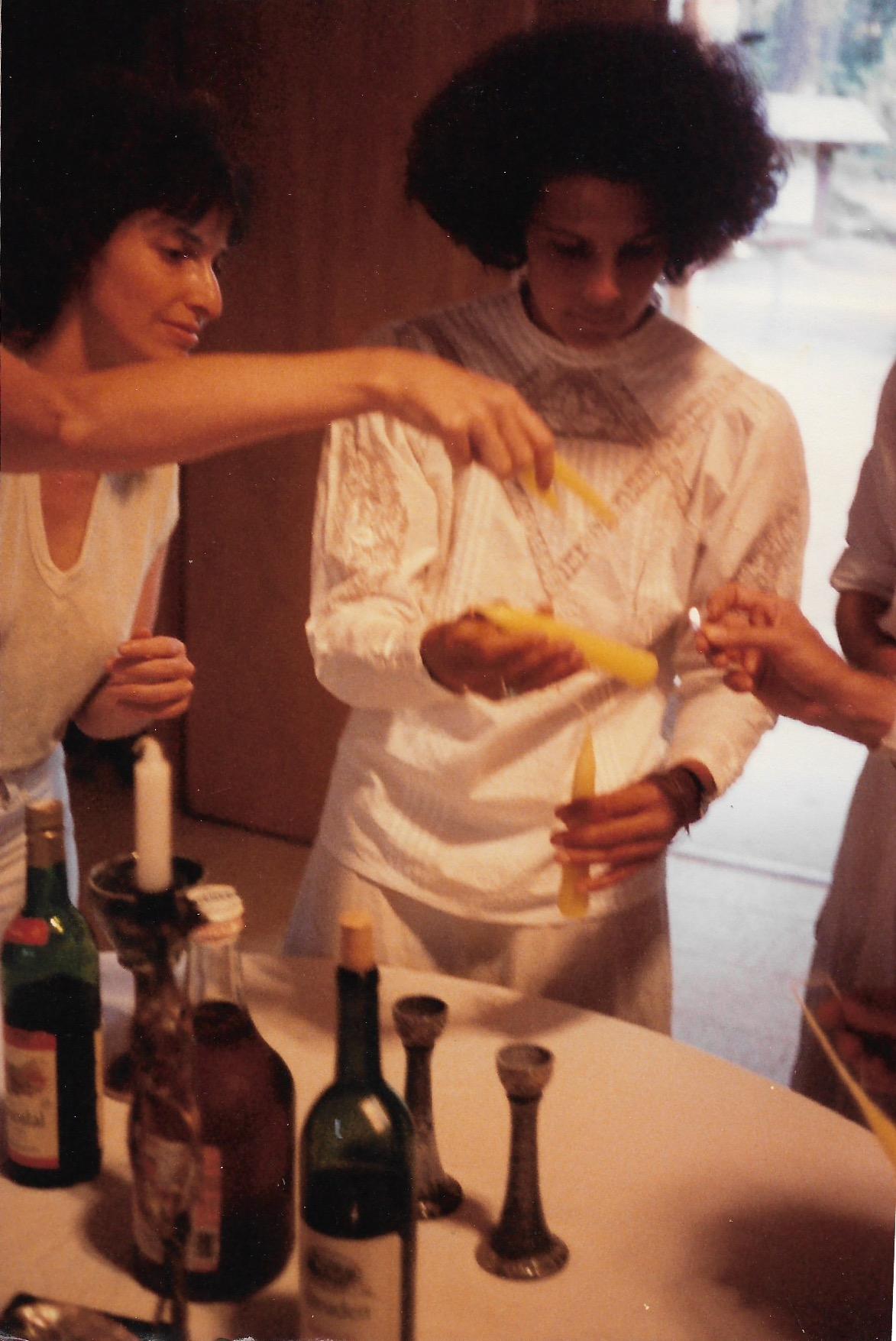 87 Joys  Preparing Shabbat candles, Linda Elyad, Carol Goodman Sills copy.jpeg