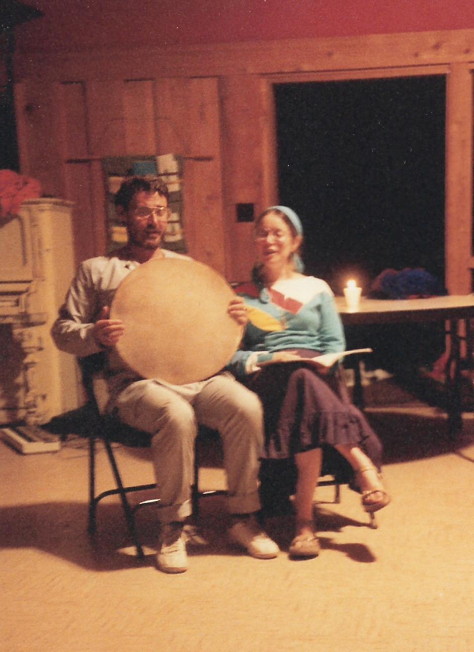 87 Joys  Saturday night talent show, Avram Davis and Sara Shendelman singing copy.jpeg