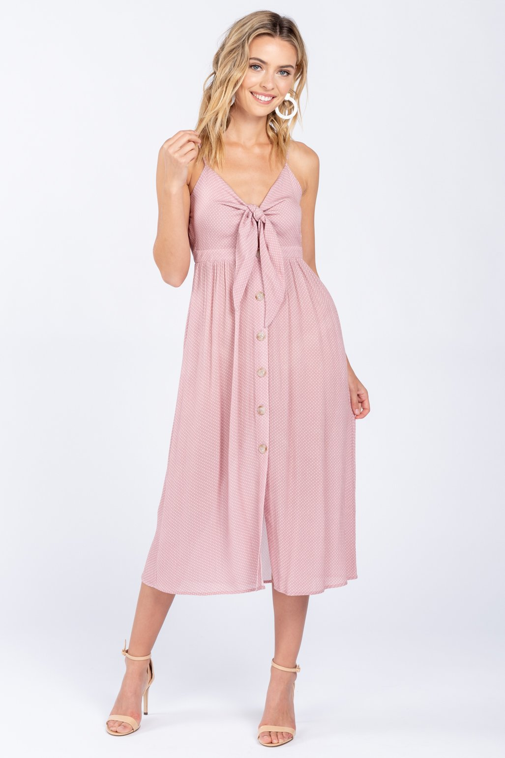 """KEEP IT CUTE"" MIDI DRESS"