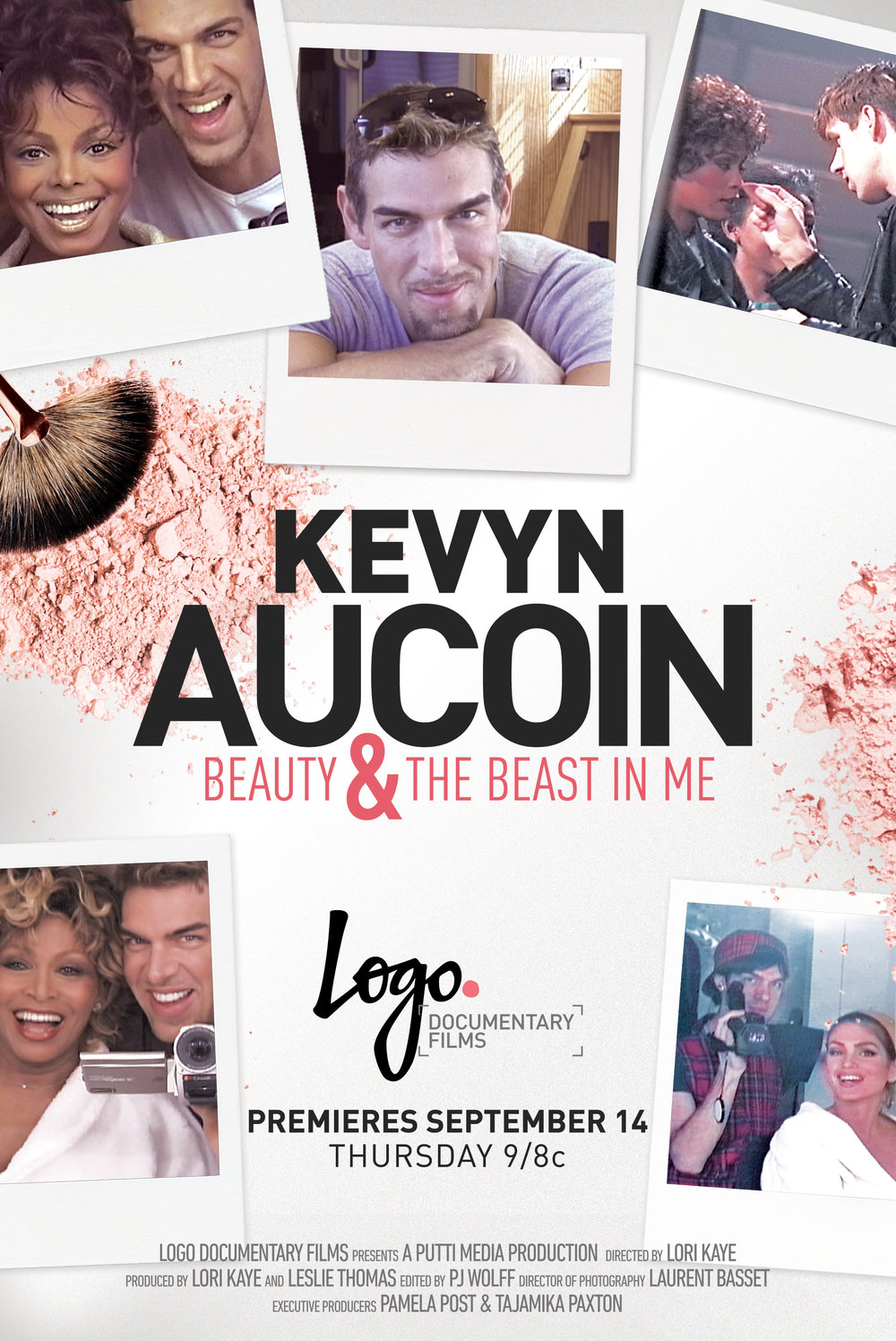KEVYN AUCOIN /  KEVYN AUCOIN: Beauty & The Beast In Me is an Emmy Award winning documentary about the life of renowned makeup artist Kevyn Aucoin. In the 1980s, Kevyn rose from nothing to become the most sought after fashion and celebrity makeup artist ever. He was a key creative player in the pop culture storm that became the supermodel era of the 1990s. Soon after, celebrities began to seek him out and he was confidante, friend and speed dial necessity for A-listers in music and film. He became a celebrity himself with three best-selling books, Oprah appearances, numerous profiles and his own line of makeup. He used his celebrity to fight for gay rights and acceptance. He died tragically at age 40 in 2002.