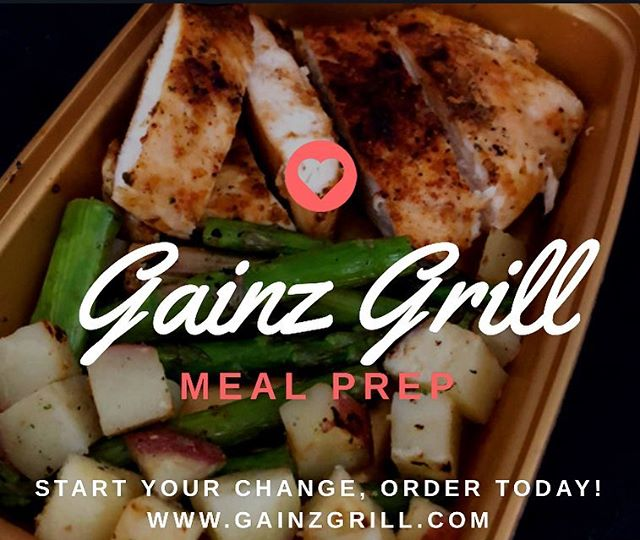 Order your meal preps today!! We have all your meal needs with our fresh prepared meals! Order as few or as many meals as you want and pick them up at the Smoothie shop weekly! Visit our website for more information Www.GainzGrill.com  ALSO: Our food truck will be back in operation starting in March! More information coming soon!